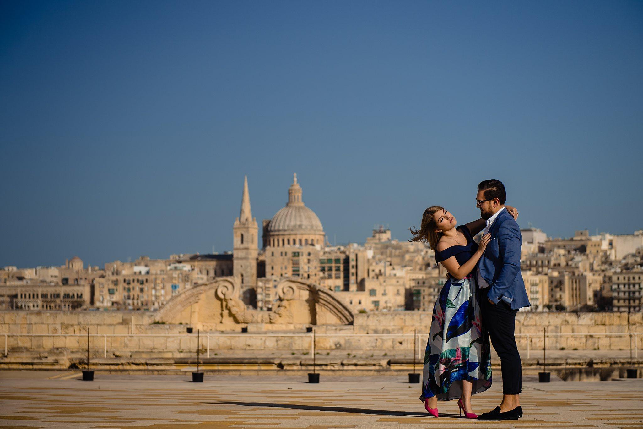 Chantelle & Matthew - Pre Wedding Session - Manoel Island - Shane P. Watts Photography