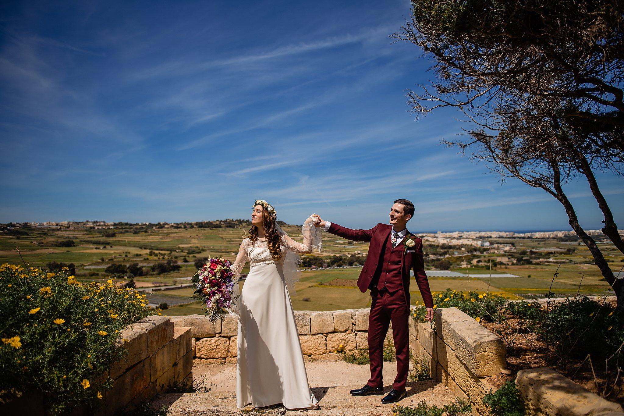Bettina & Blaine | Villa Mdina | Wedding Photography Malta | Shane P. Watts Photography