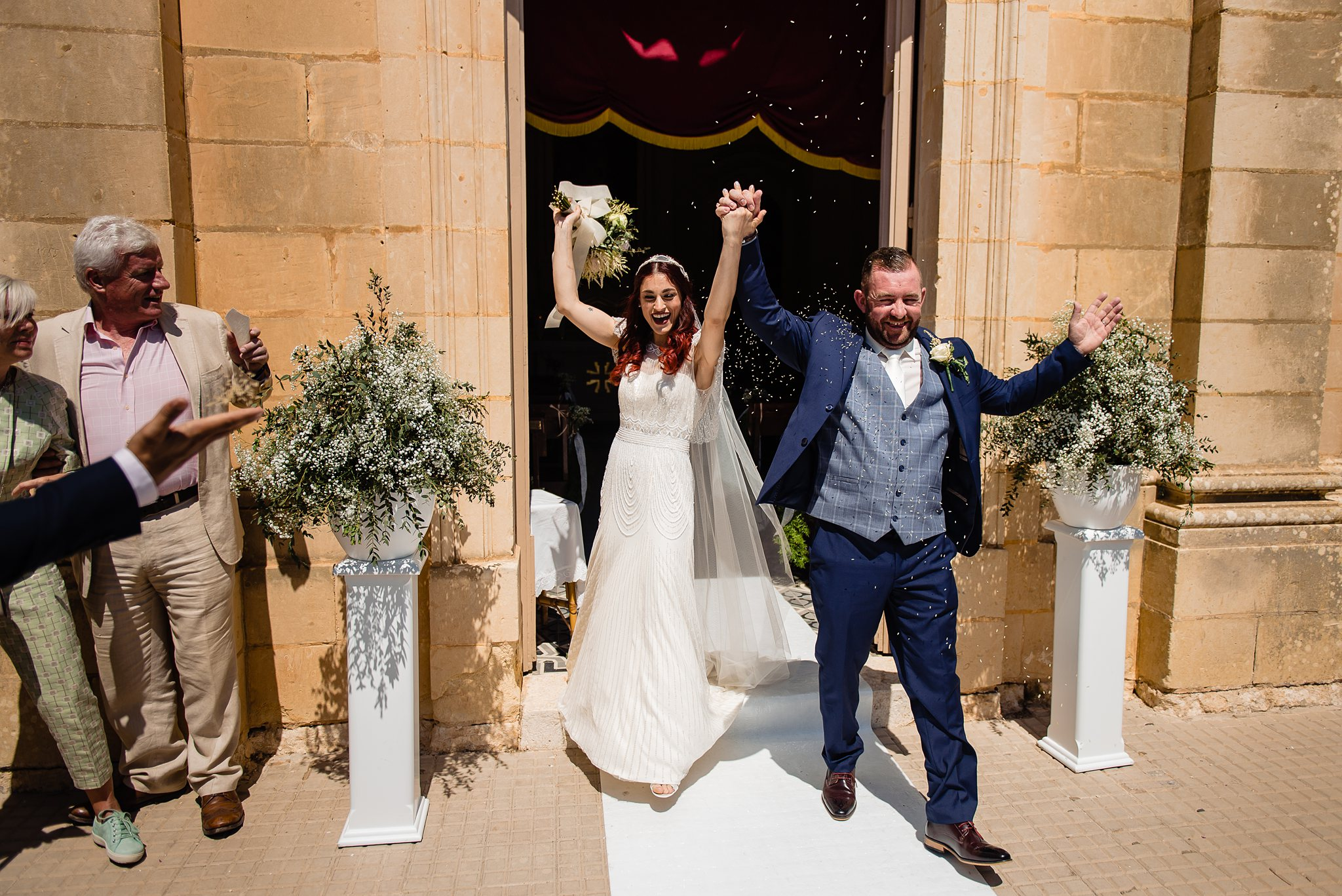 Adriana & Damien - Garden Wedding at ta Milqi Farmhouse Burmarrad - Shane P. Watts Photography