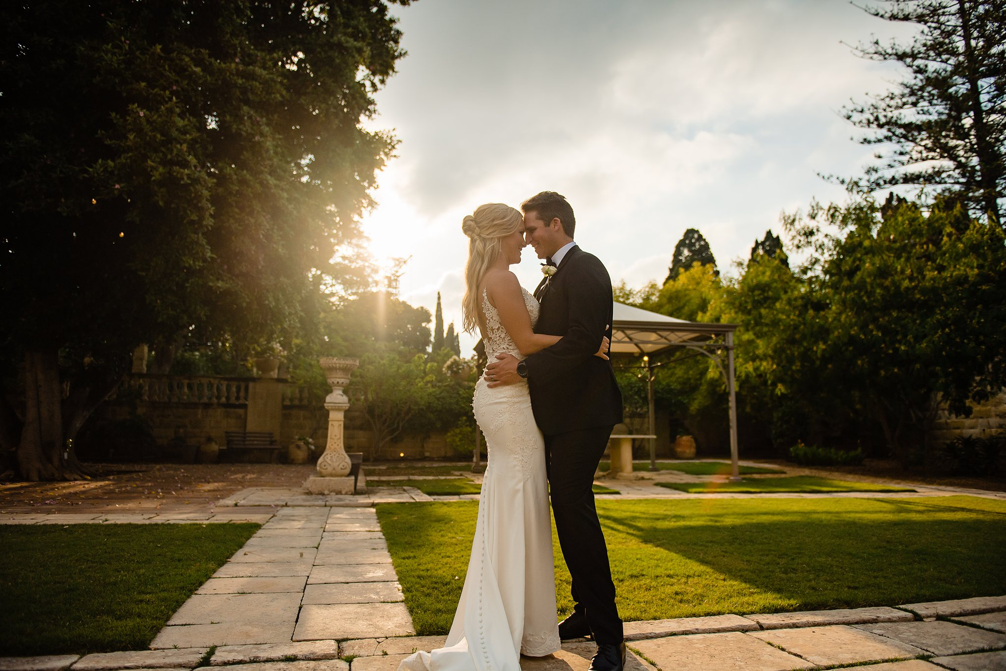 Ashley & Colby | Villa Bologna Attard | Wedding Photography Malta