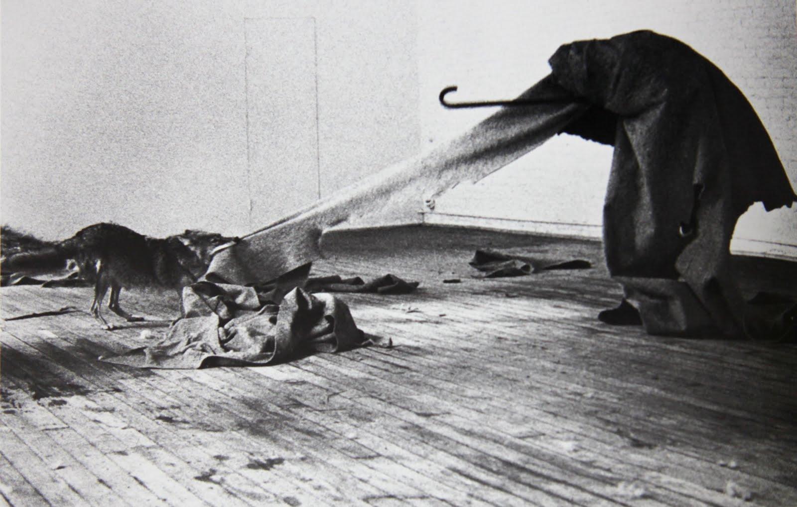 Joseph Beuys,  I like America and America likes me , 1974