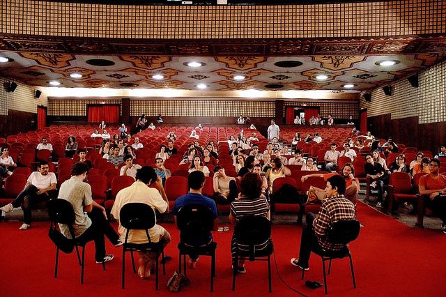 """""""Debate sobre Direitos Urbanos e Cinema"""" de Direitos Urbanos bajo licencia CC BY 2.0."""