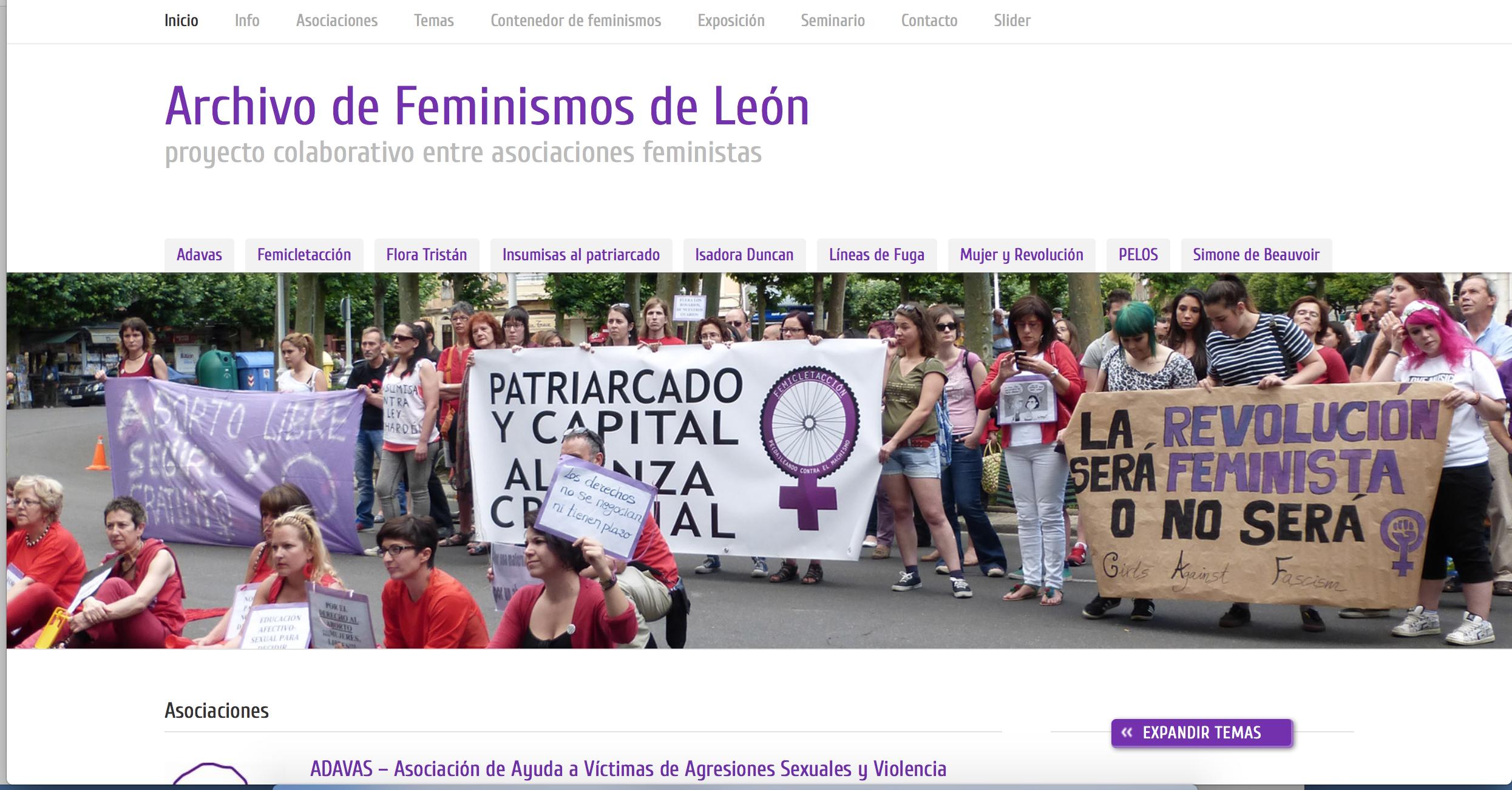 Feminismos de León