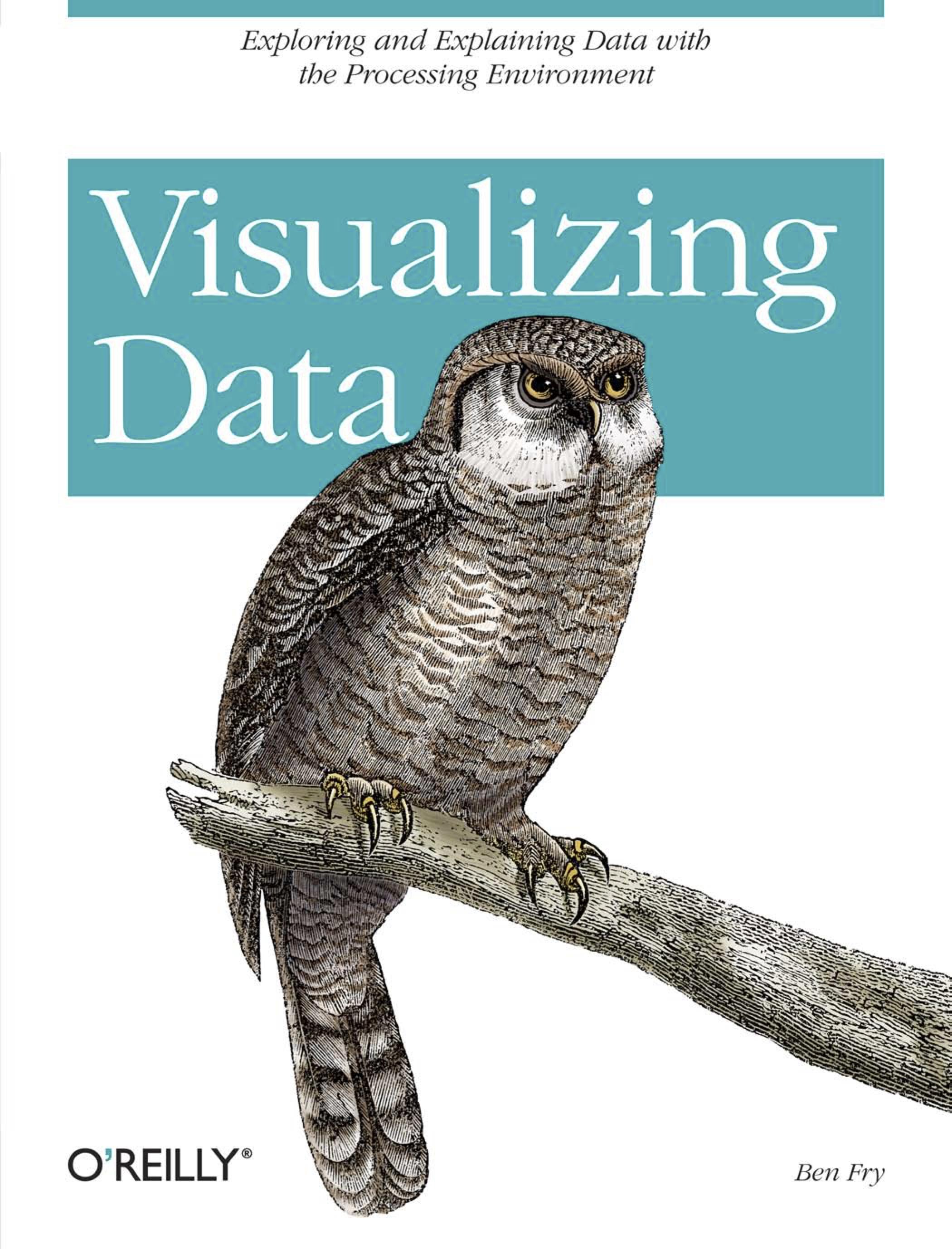 Visualizing Data - (Inglés)Este libro explica cómo representar datos con precisión en la Web y en otros lugares, con la interacción del usuario,animaciones y más. Aprenderá principios básicos de visualización y cómo proporcionar funciones interactivas para diseñar interfaces completas en conjuntos de datos grandes y complejos.