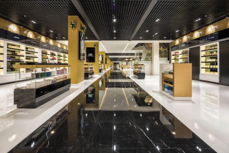 Interior Photography Parfum Monde