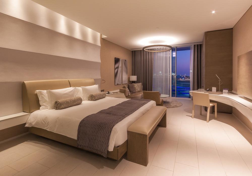 Interior Photography Yas hotel room
