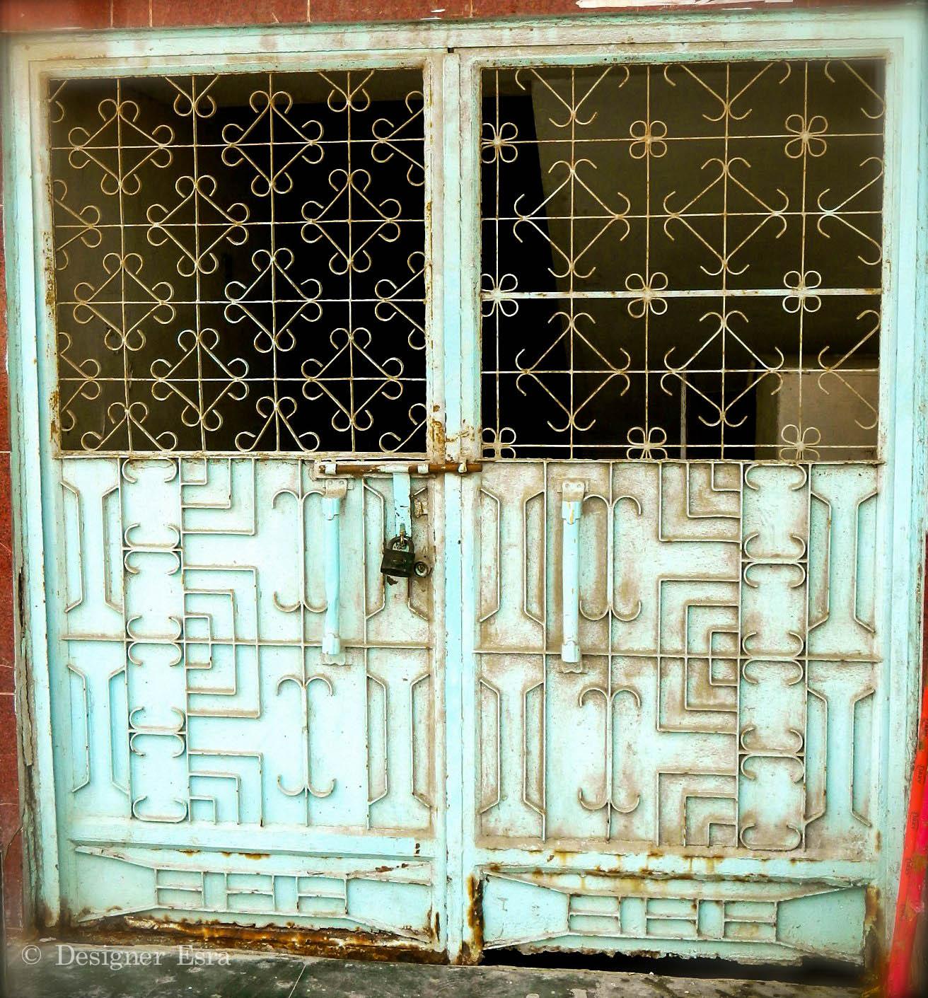 Traditional Iron Door
