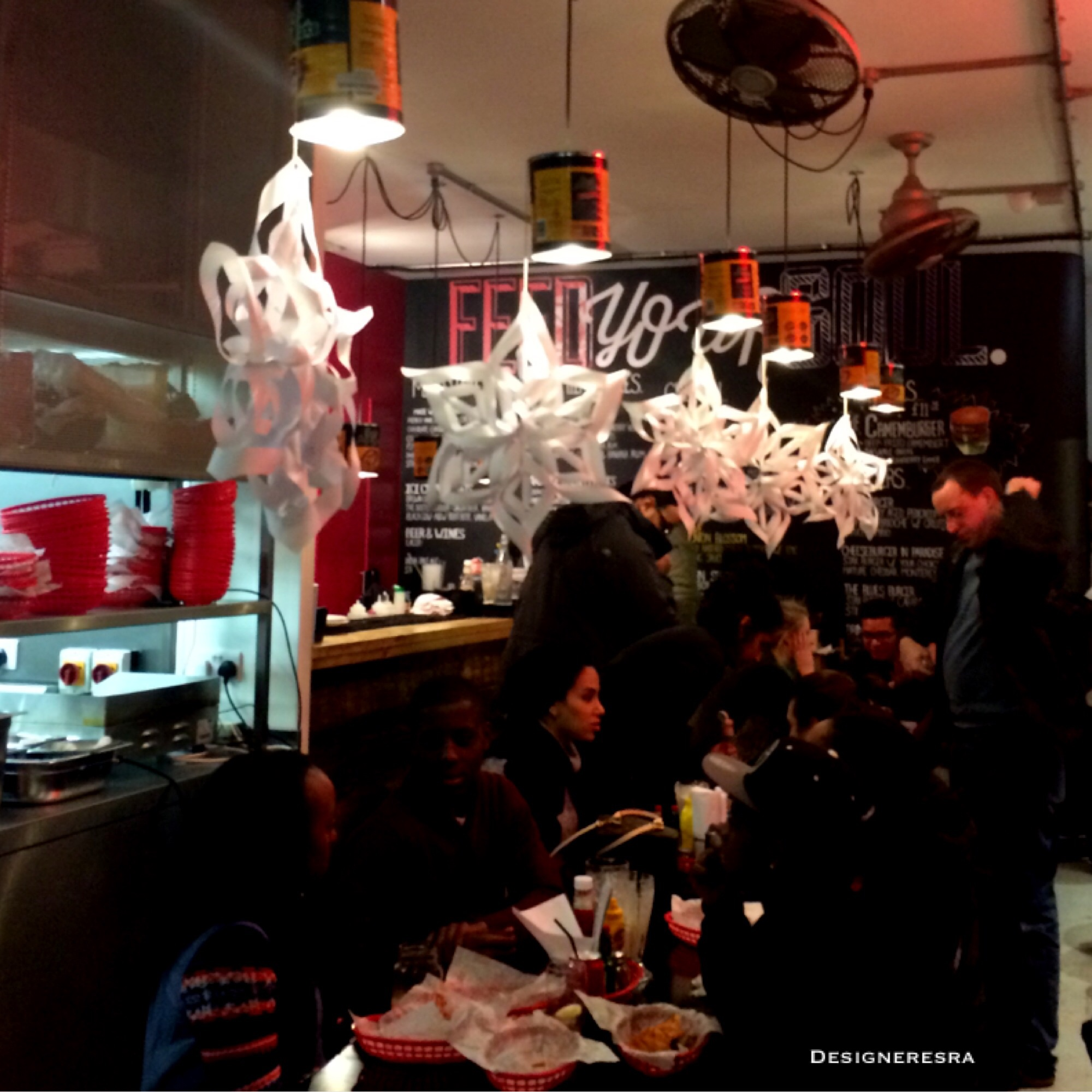 Burger Joint Interior
