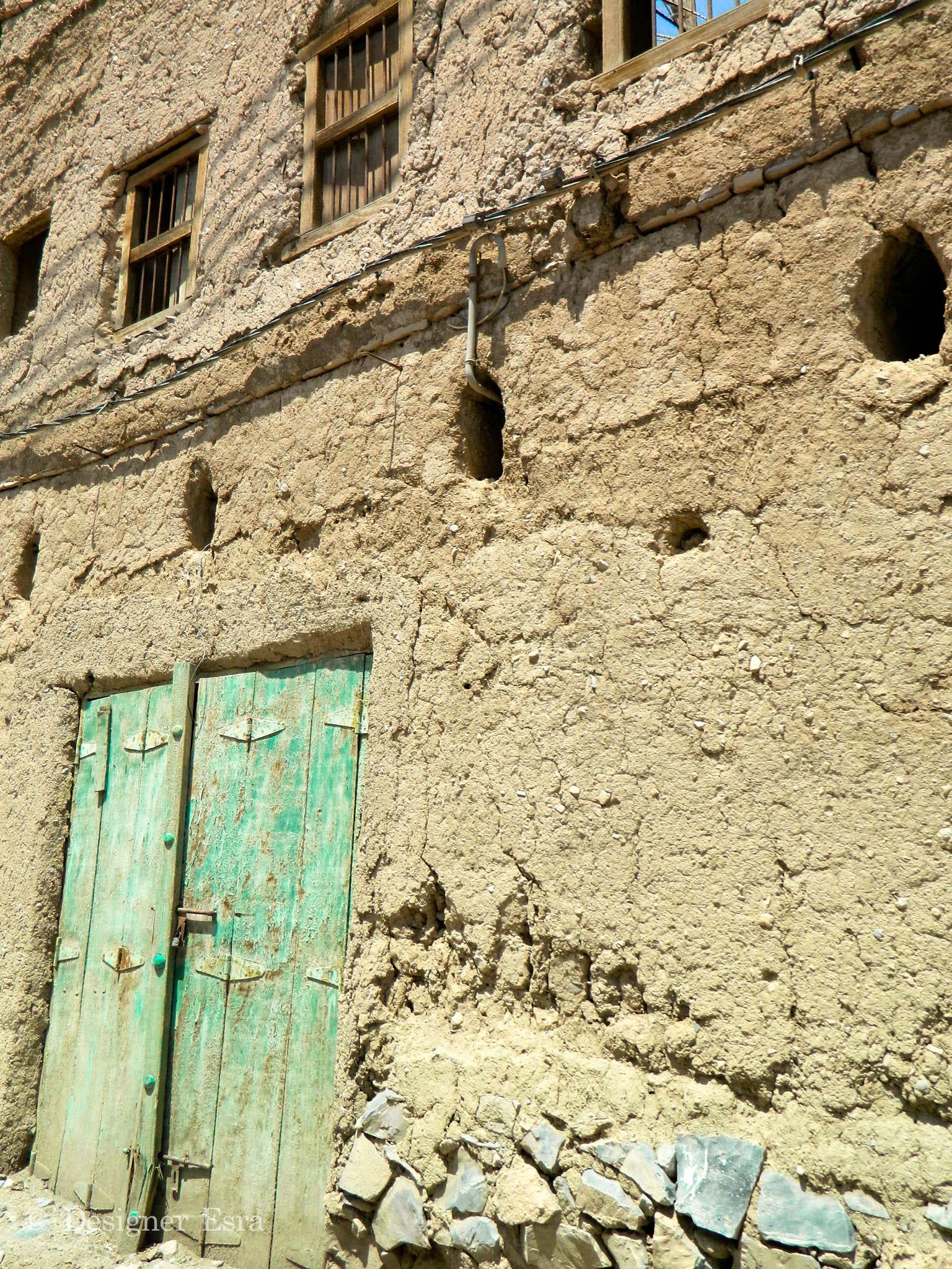 Arab Green Door