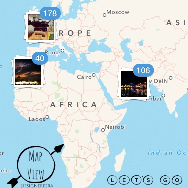Instagram Map