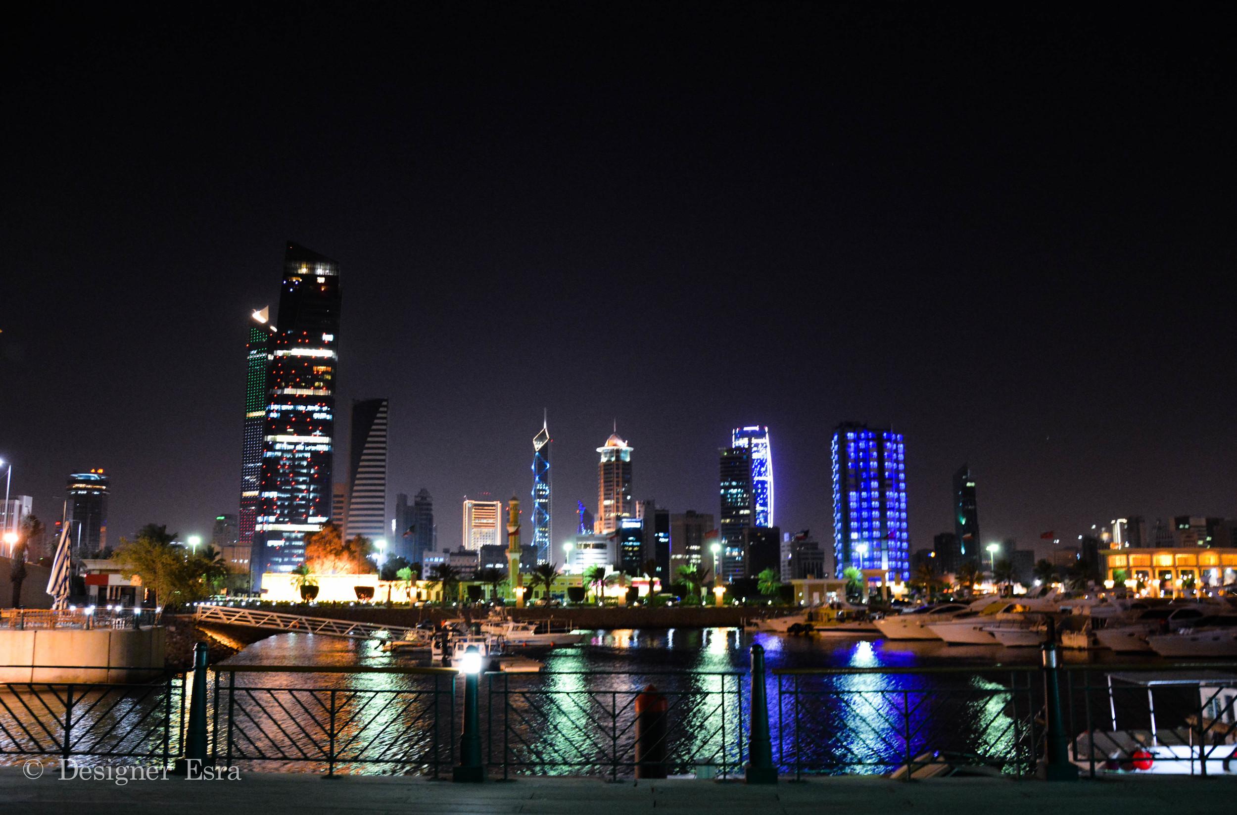 Kuwait At Night