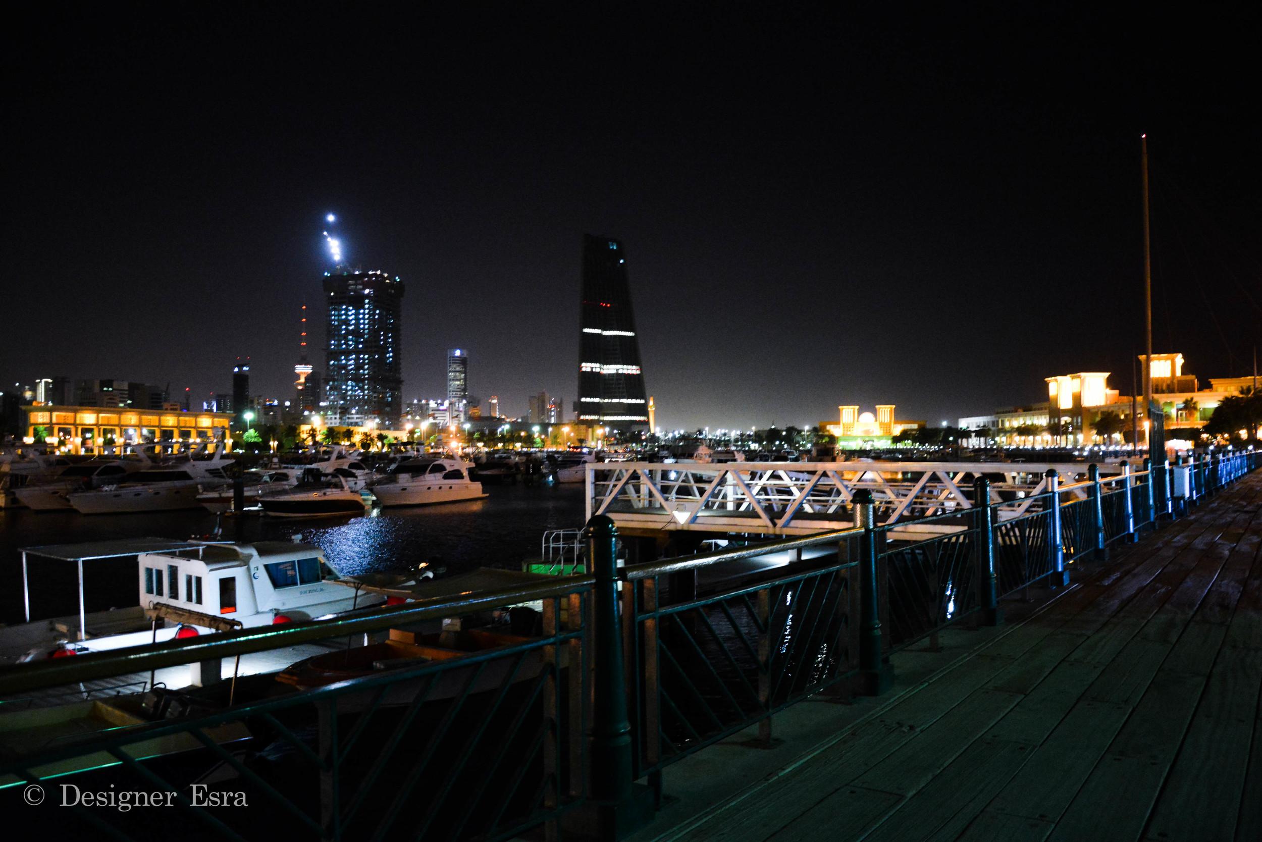 Kuwait City Lights