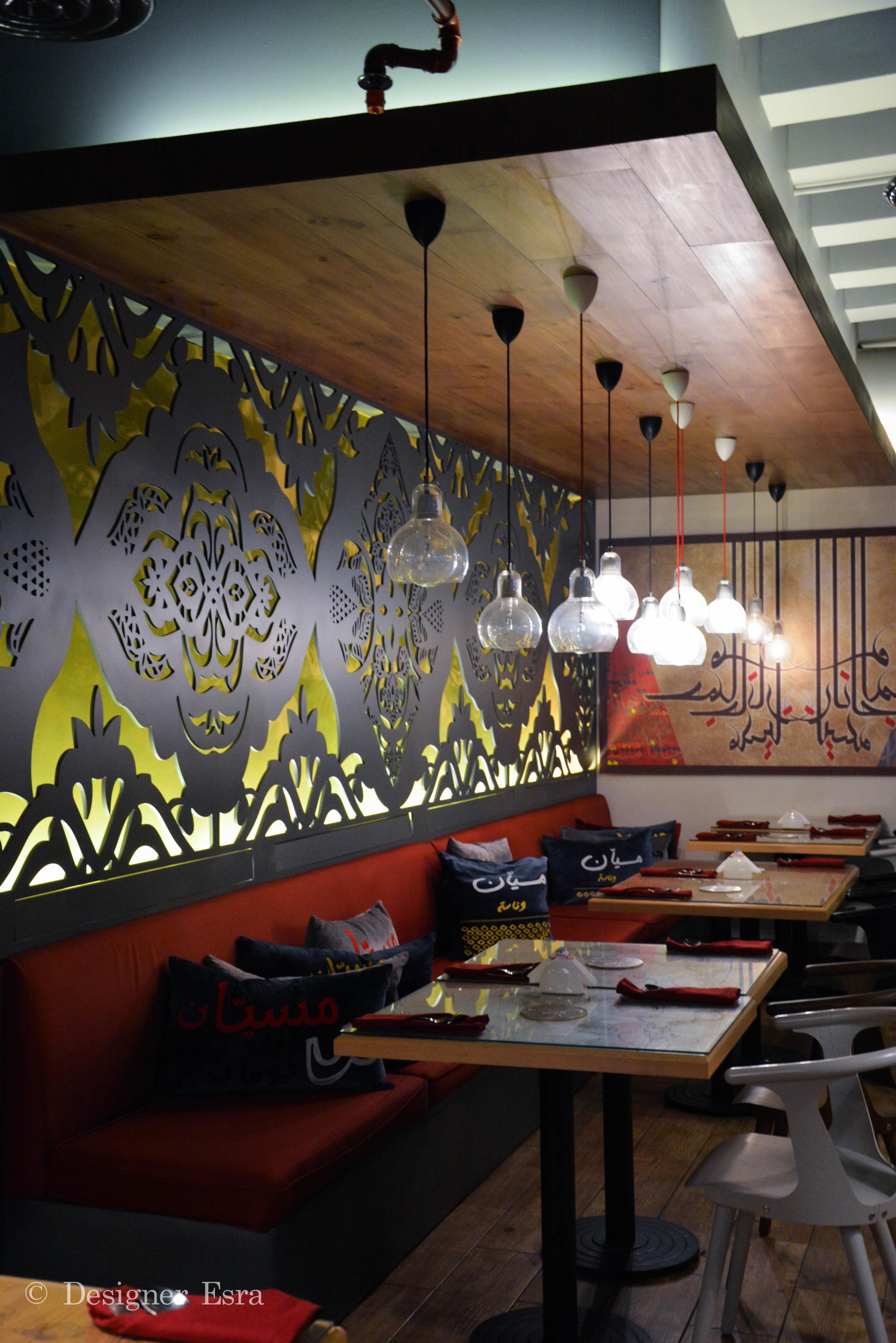 Arabic Restaurant Design