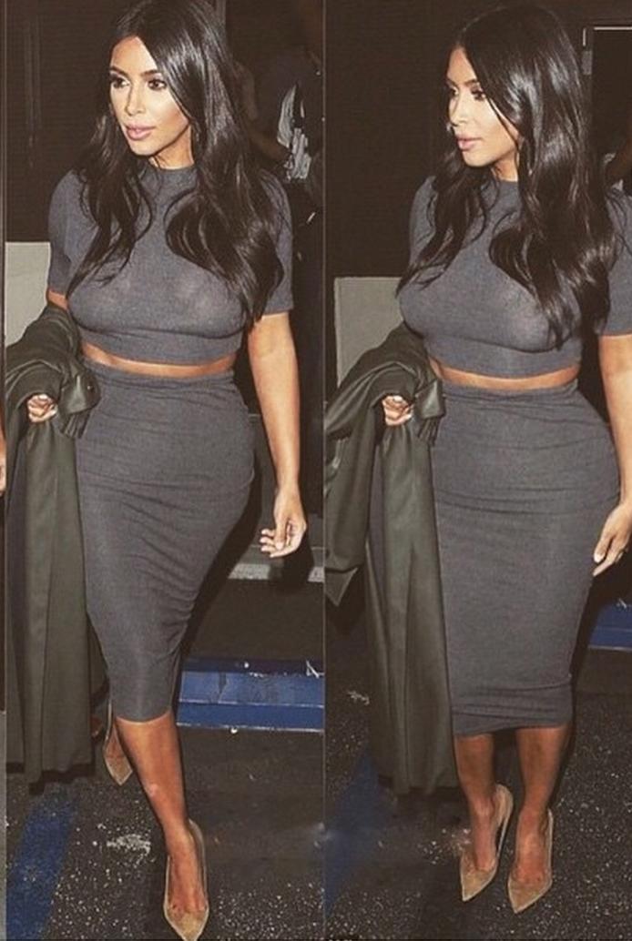Kim Kardashian  (From her own public instagram page)