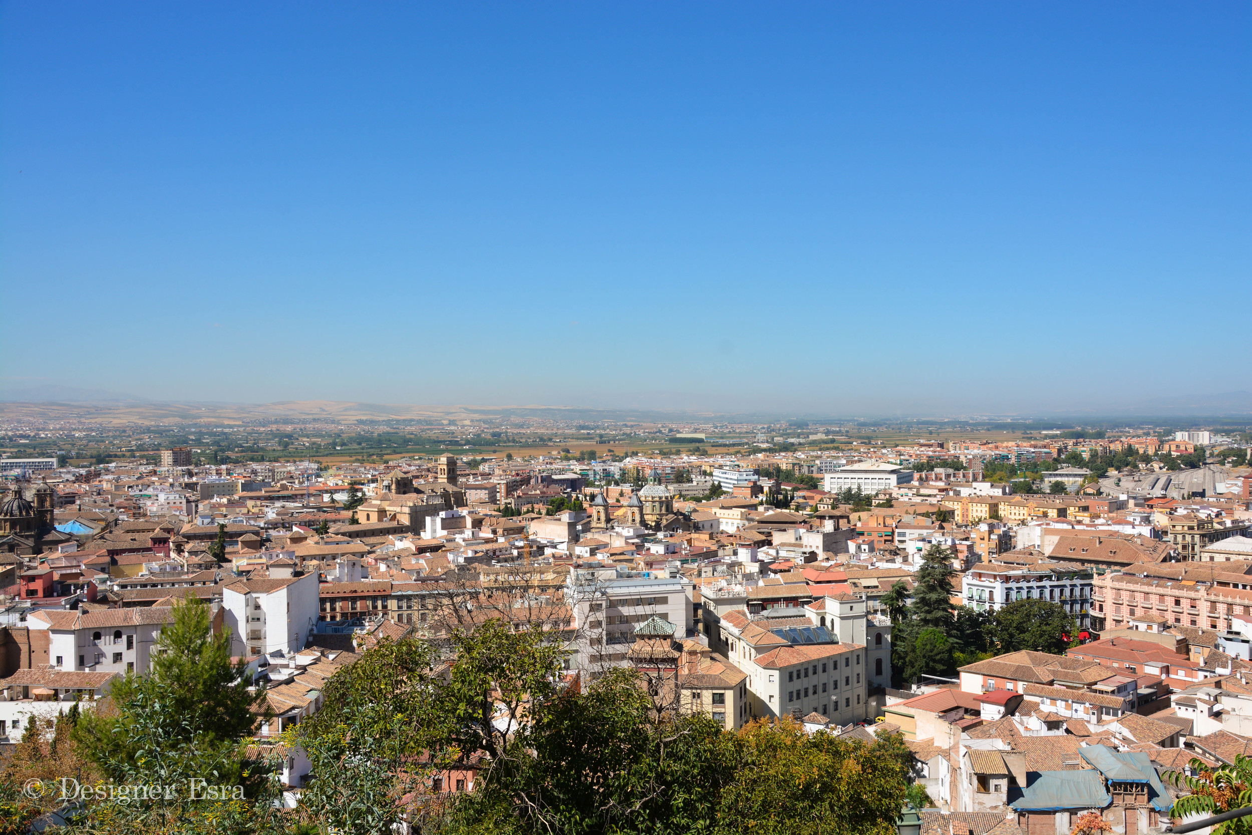 Top View of Granada