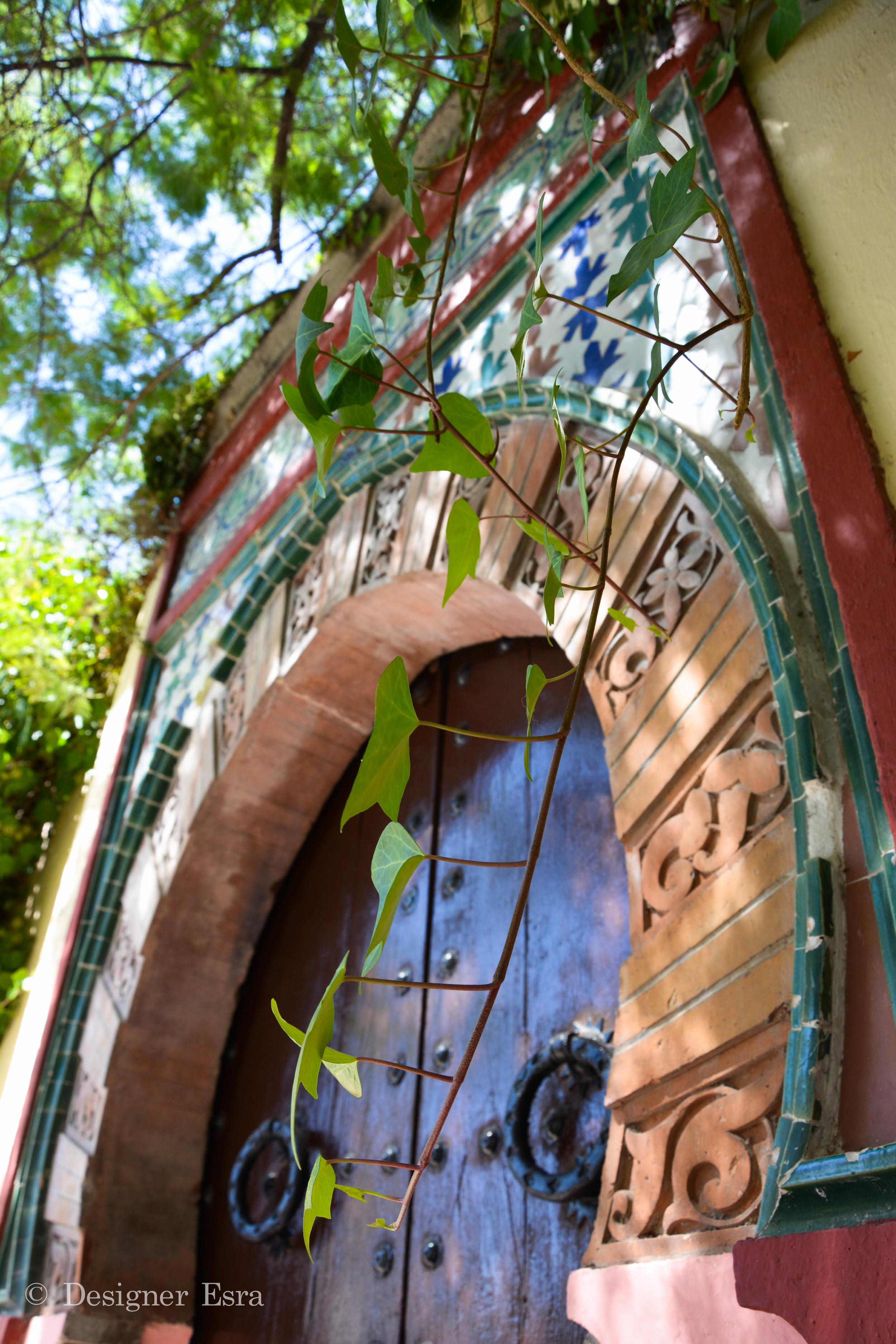 Granada Islamic Door