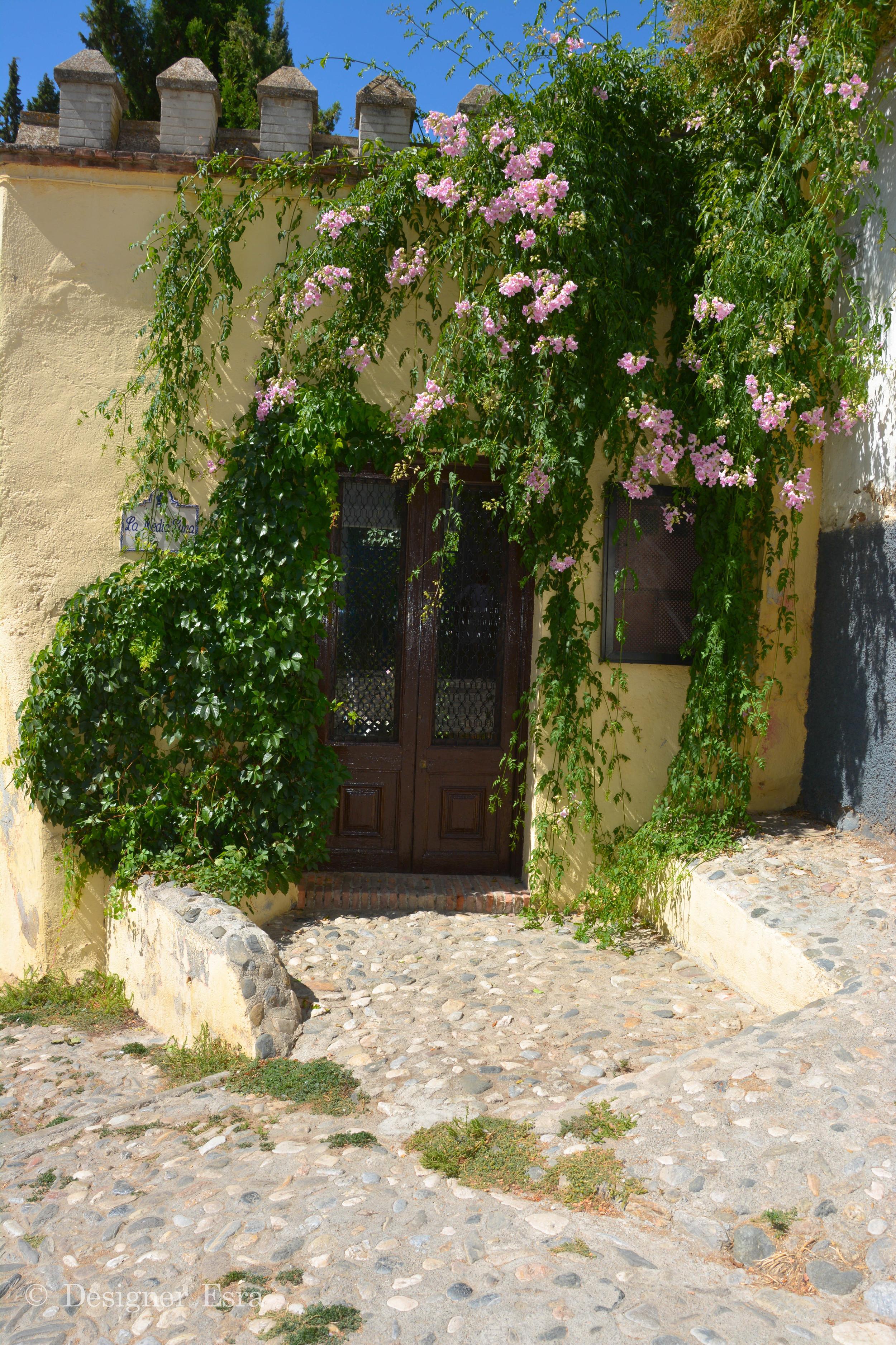 Stone houses in Granada