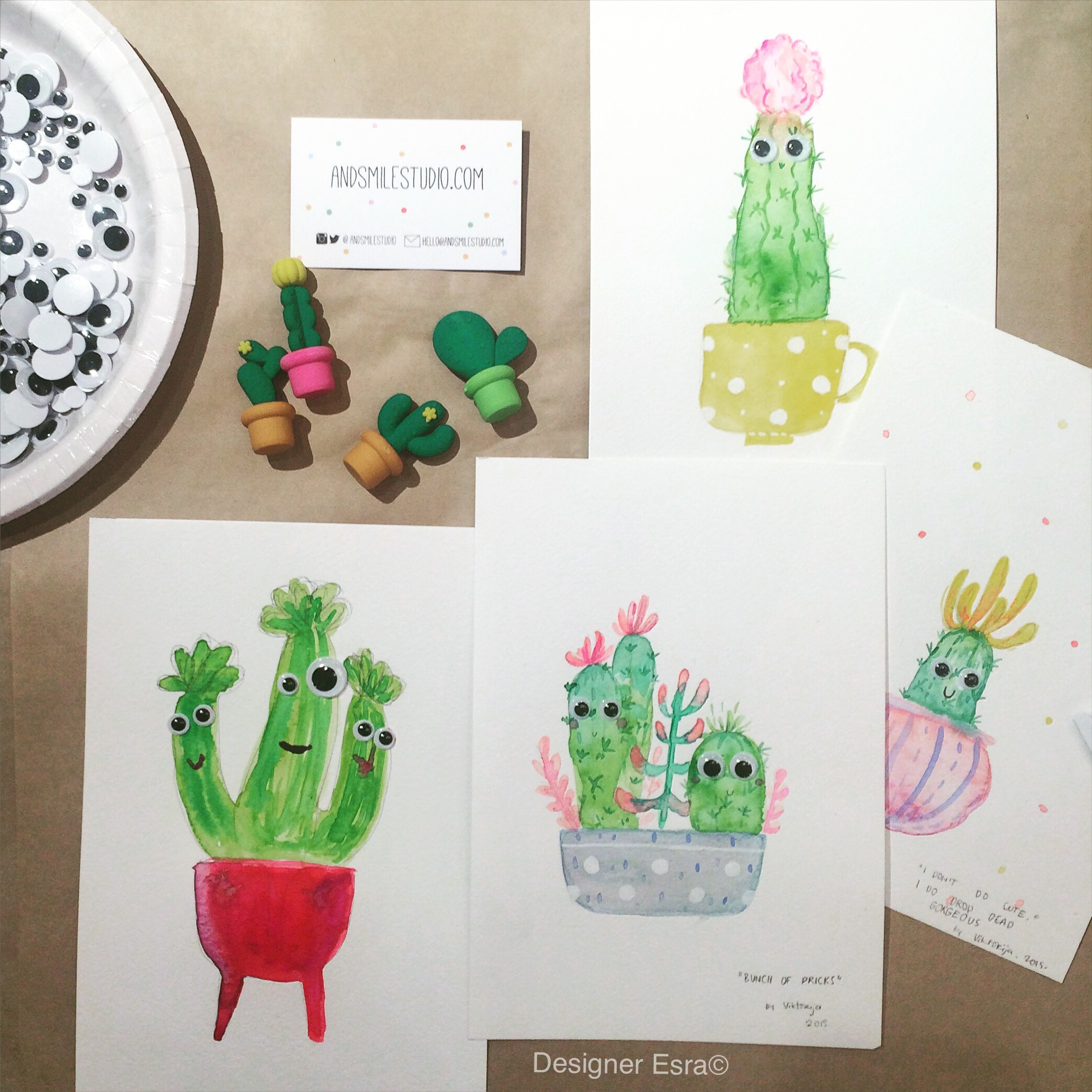 My funky Cactus Painting