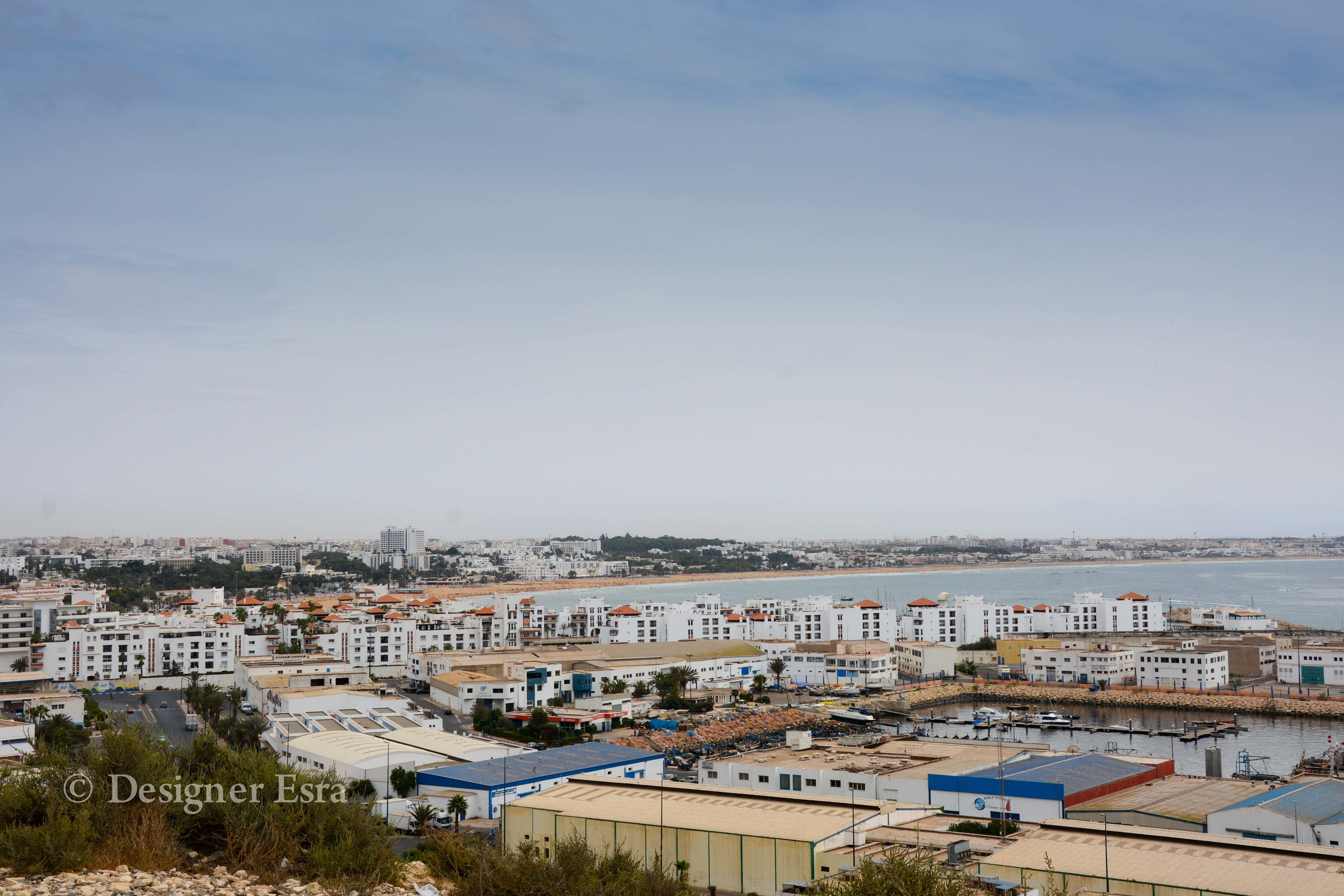 Full View of Agadir, Morocco