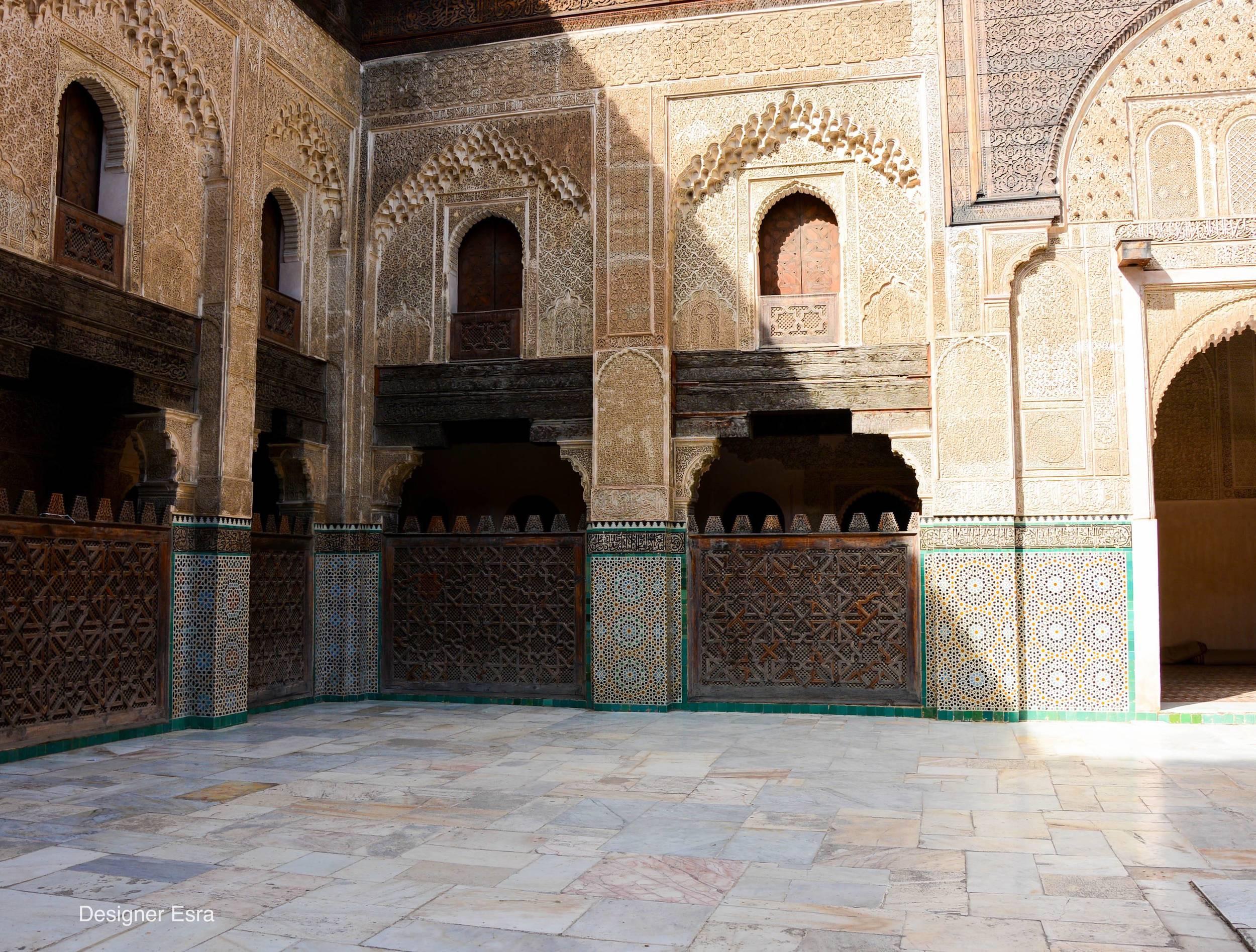 Bou Inania Madrasa in Fes, Morocco