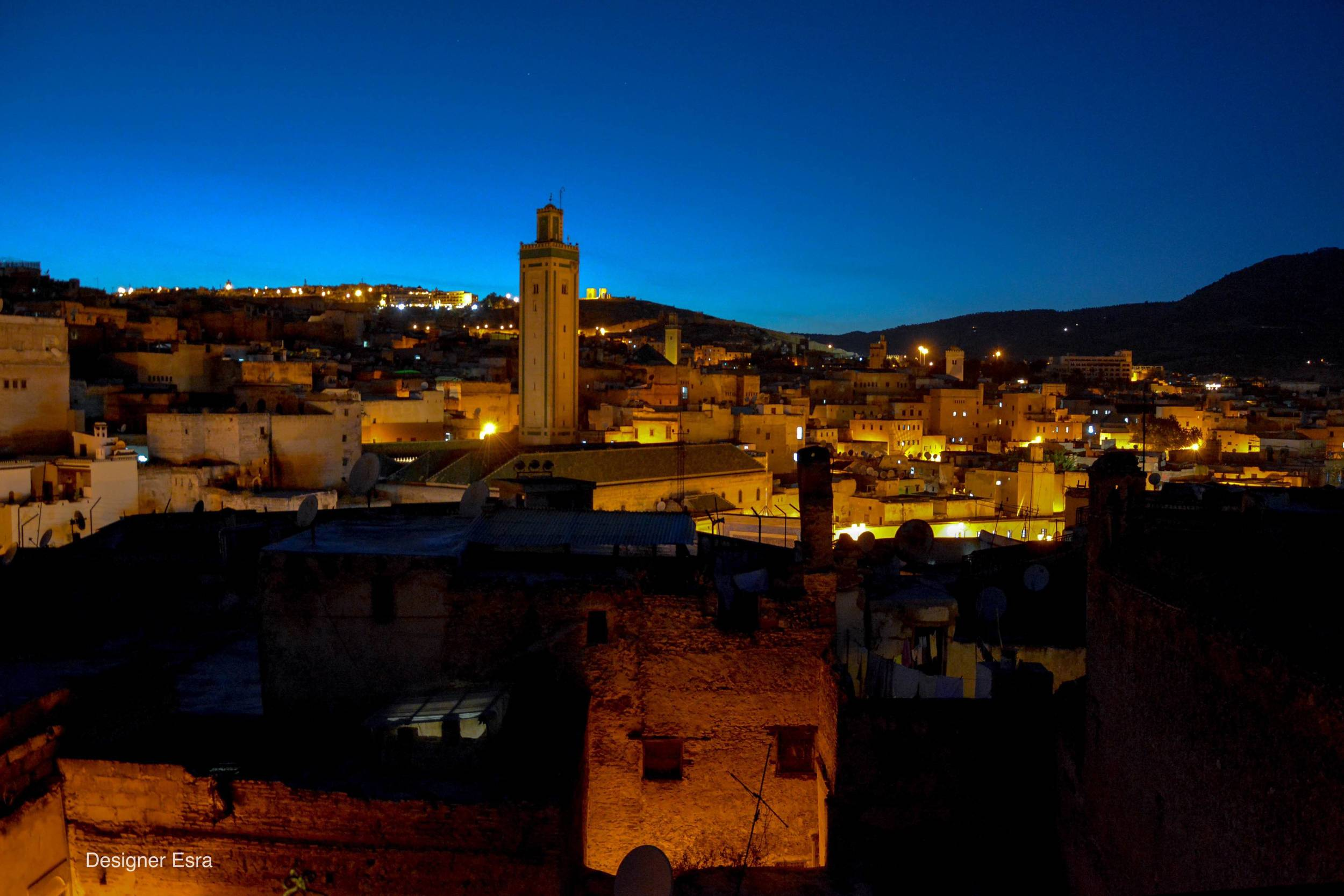 View of Fez from the terrace