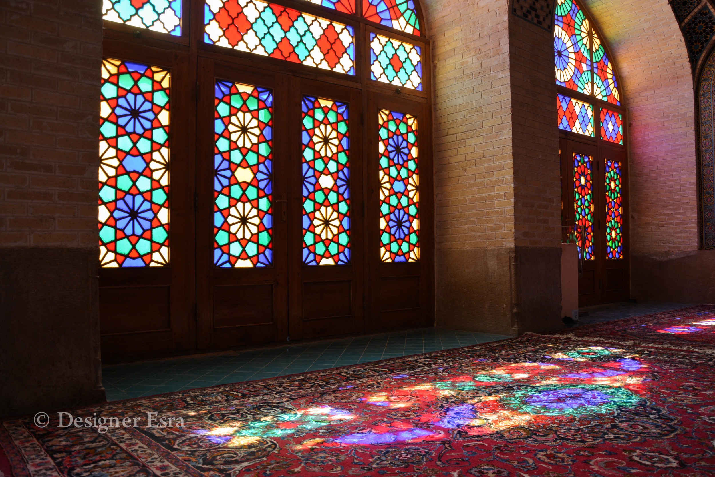 Nasir Almulk Mosque in Shiraz