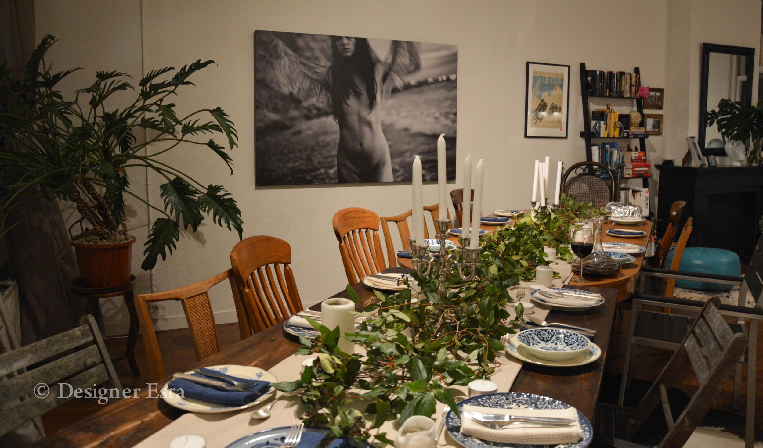 Thanksgiving Table Setup