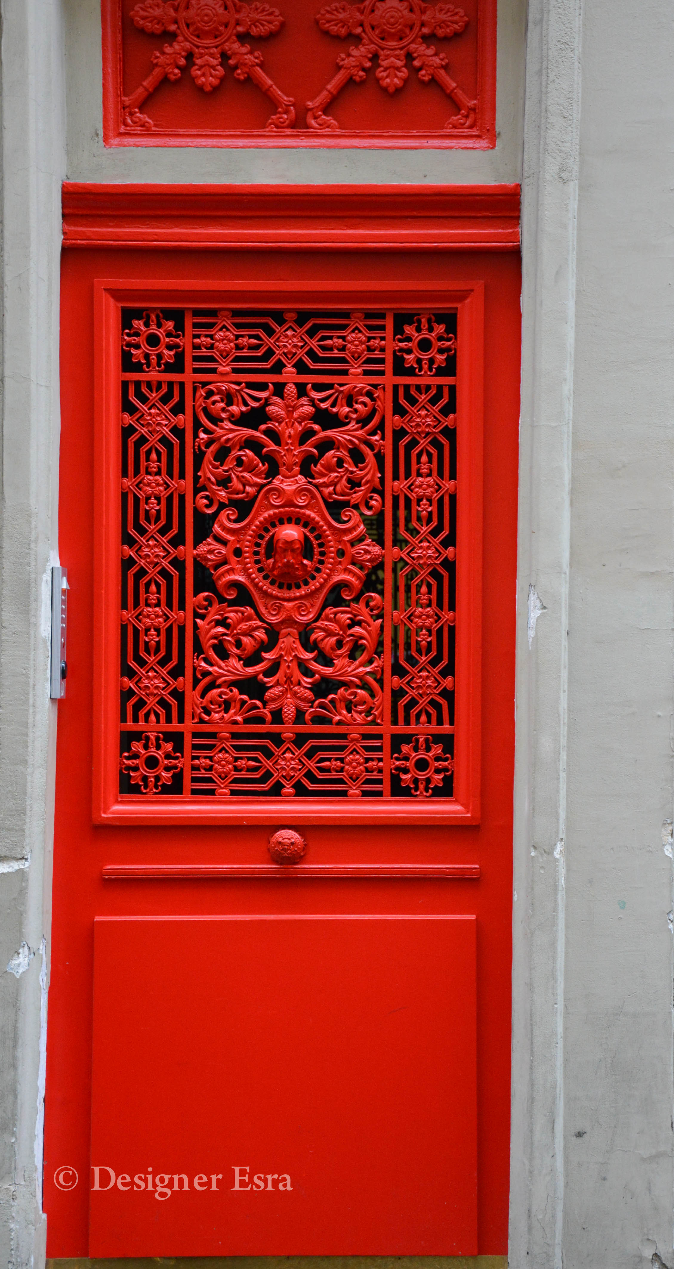 Red Door in Paris