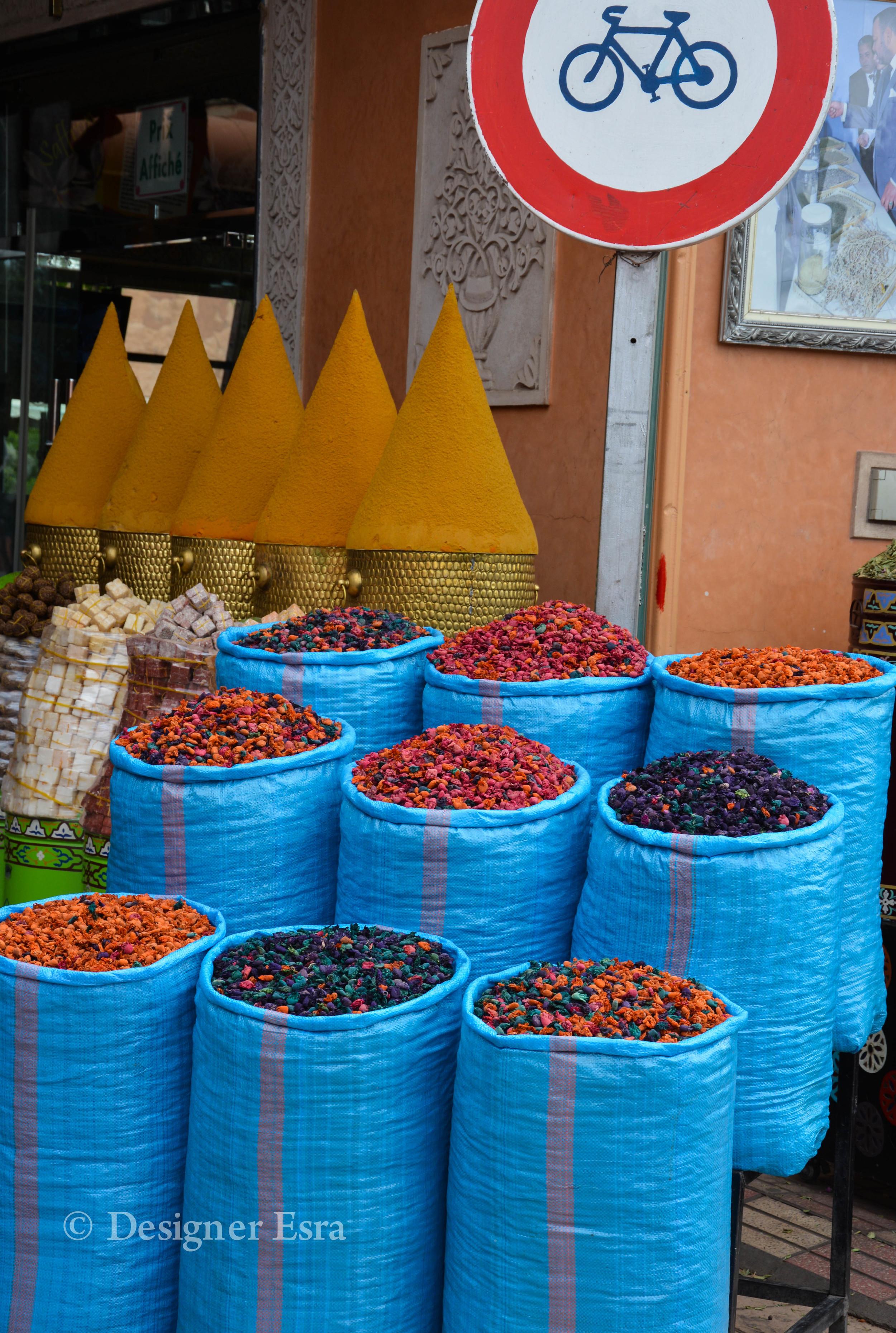 Bright Colours in Morocco