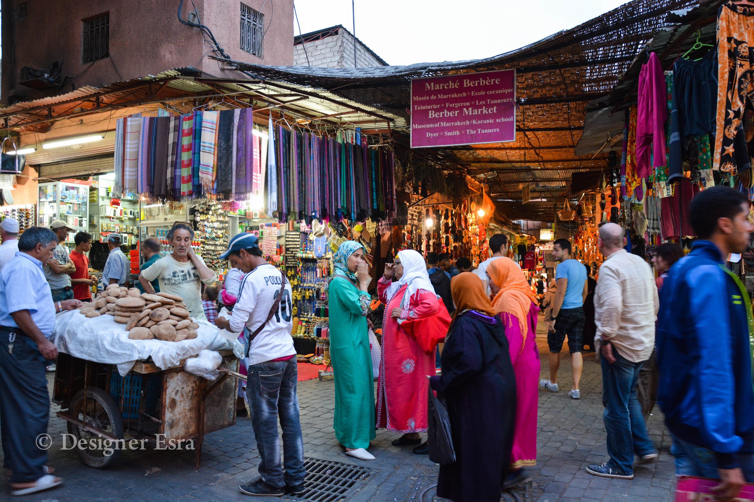 Colourful Moroccan Jalabs