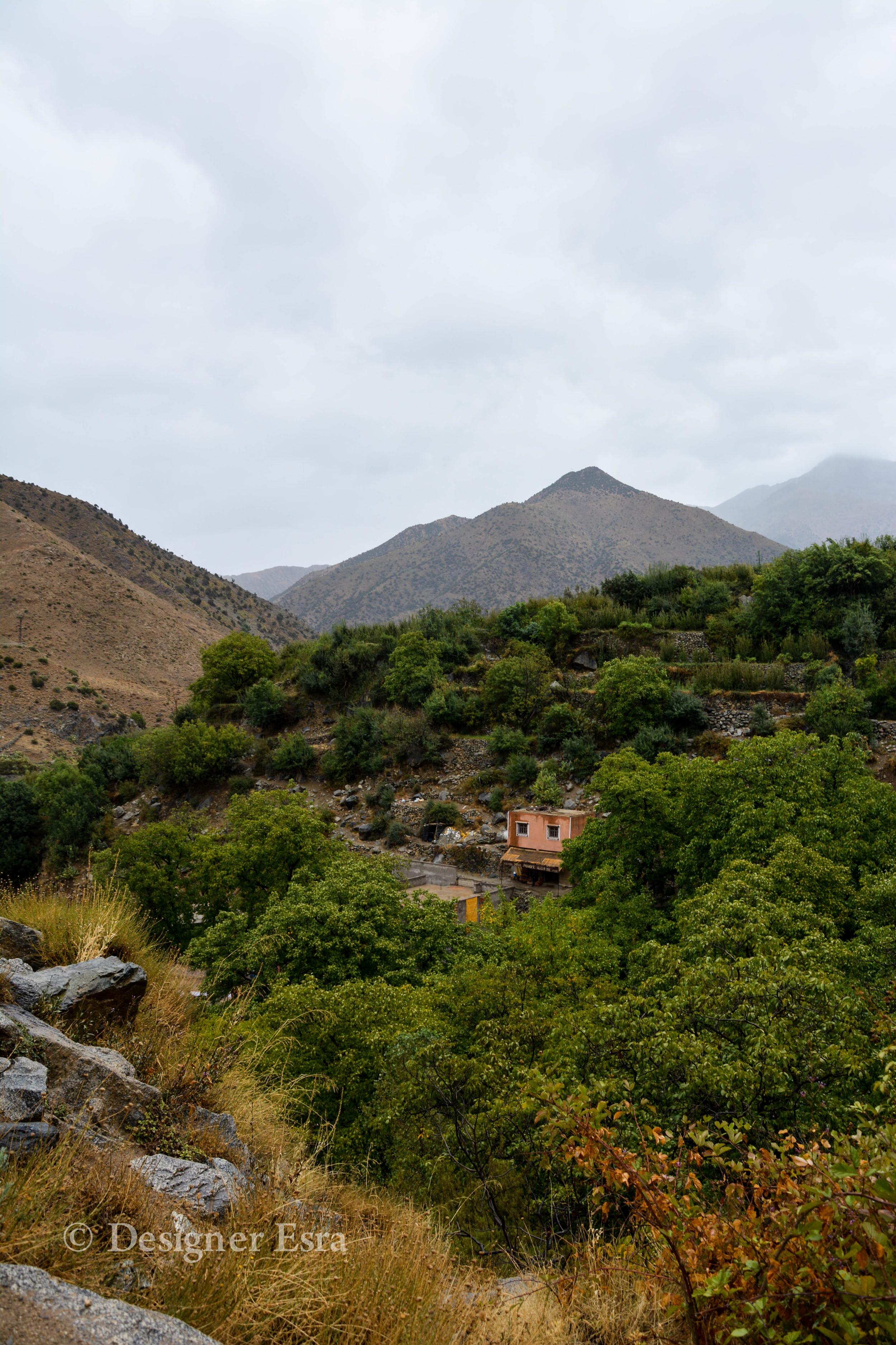 Finally some mountain views
