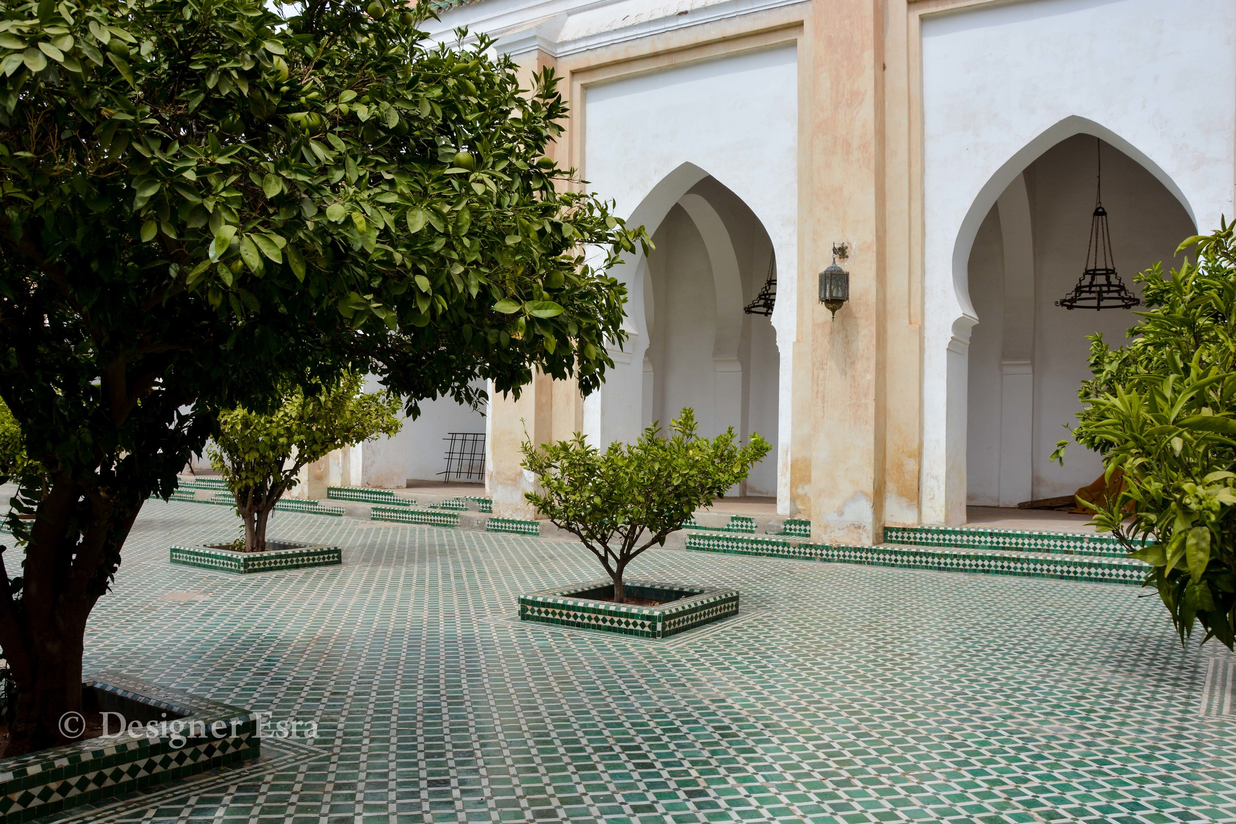 Courtyard in Koutoubia Mosque