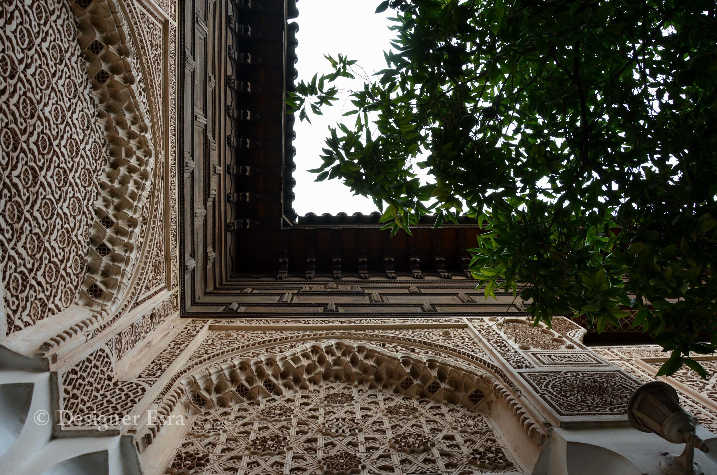Islamic Patterns in Bahia Palace
