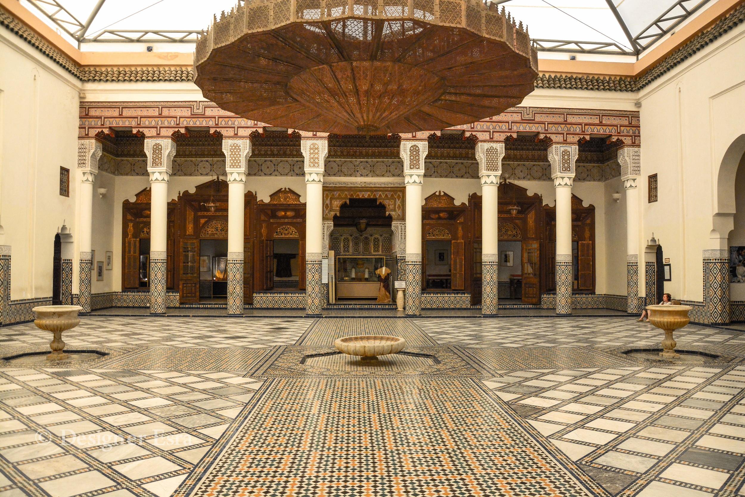 Islamic Pattern in the Museum of Marrakech