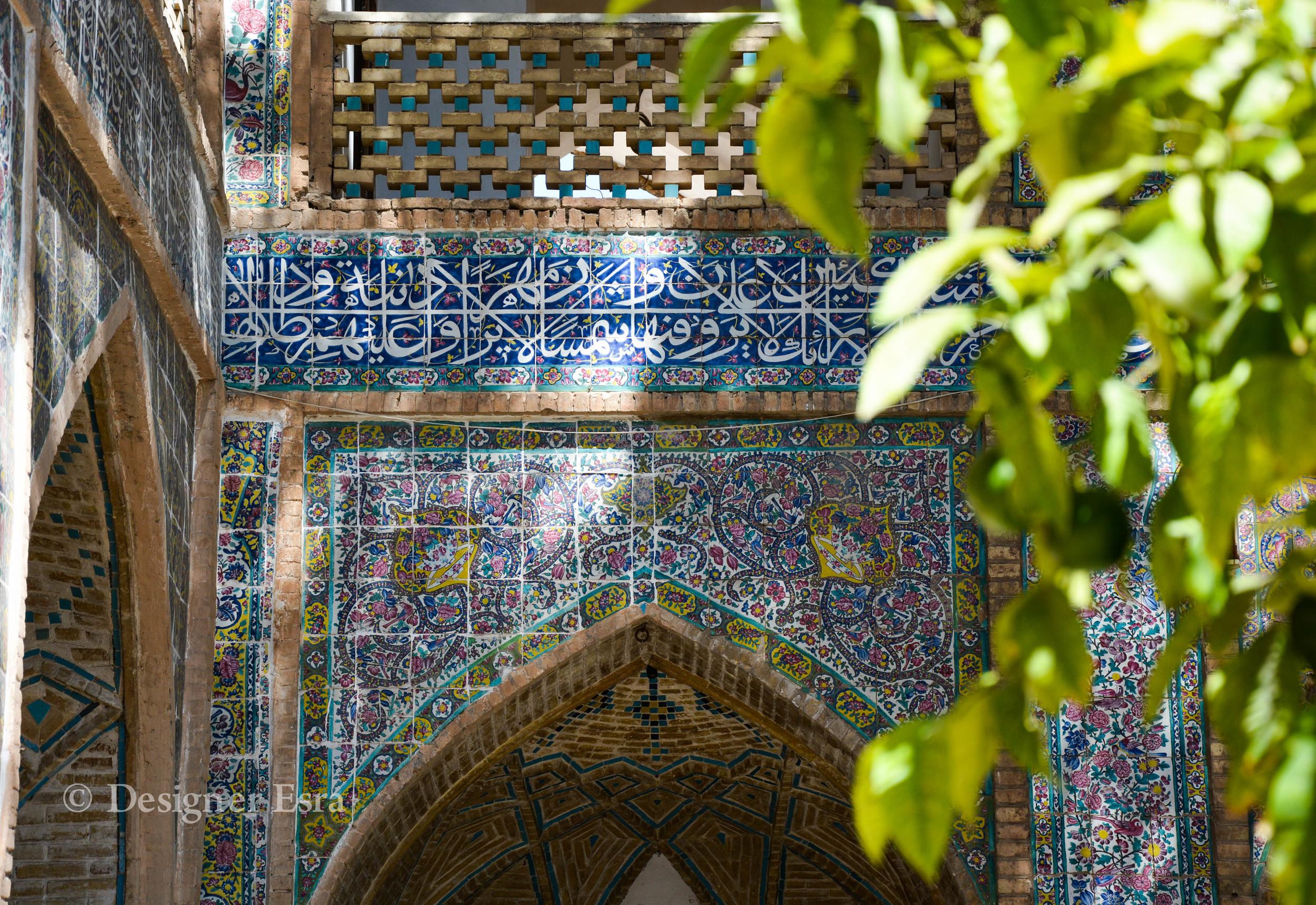 Patterns of Madrasa Khan in Shiraz