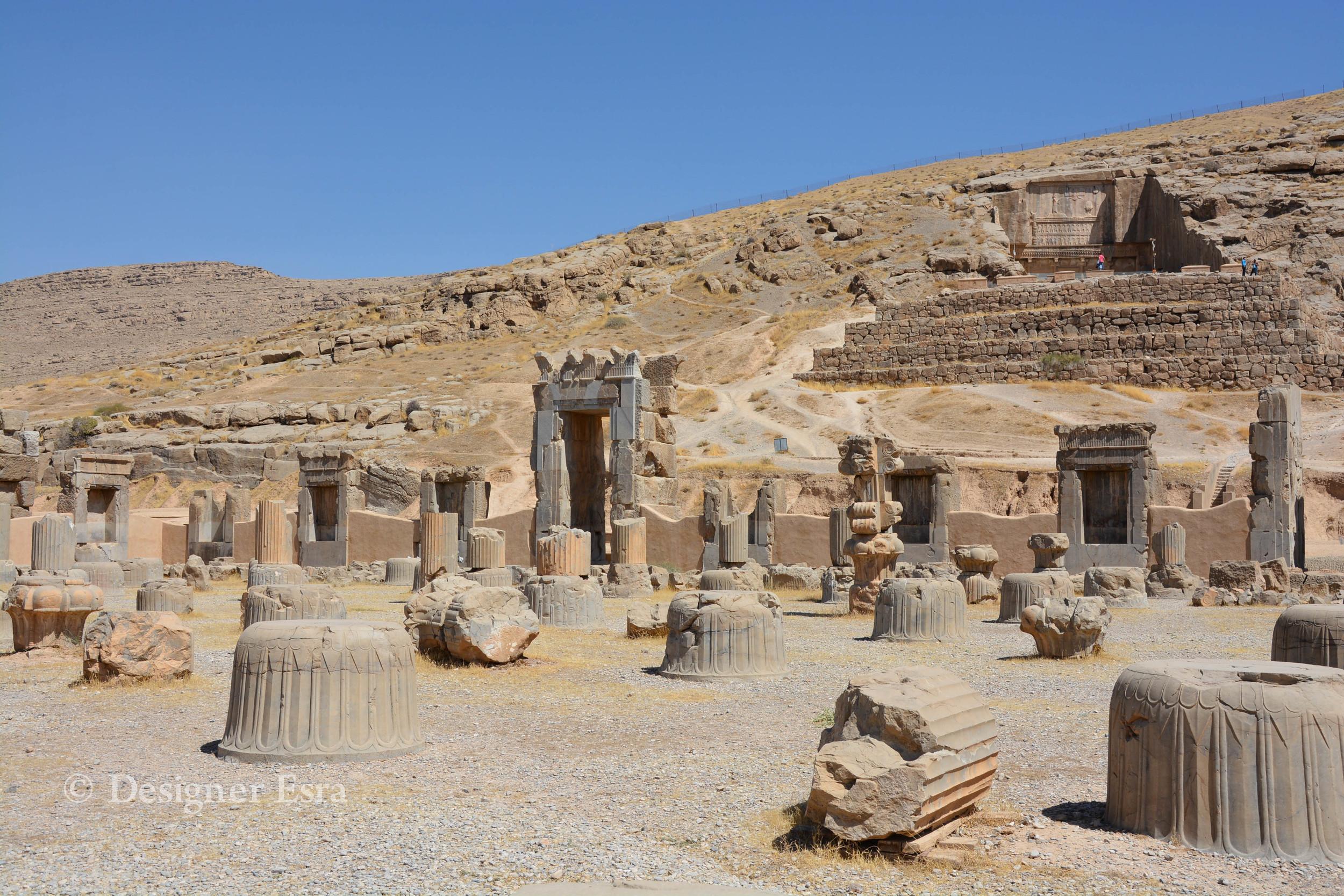 Temple Ruins in Iran