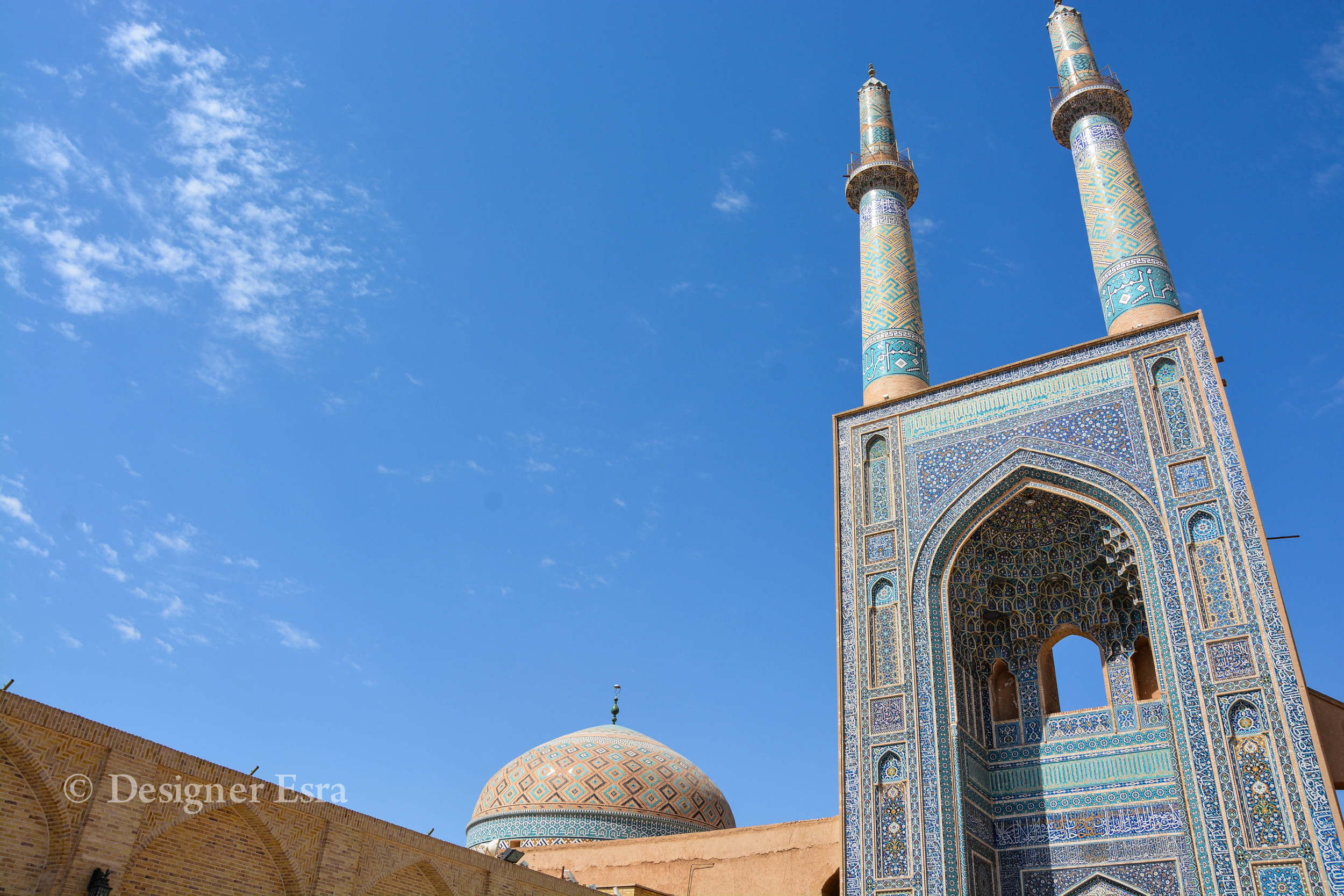 Jame'a / Friday Mosque in Yazd, Iran