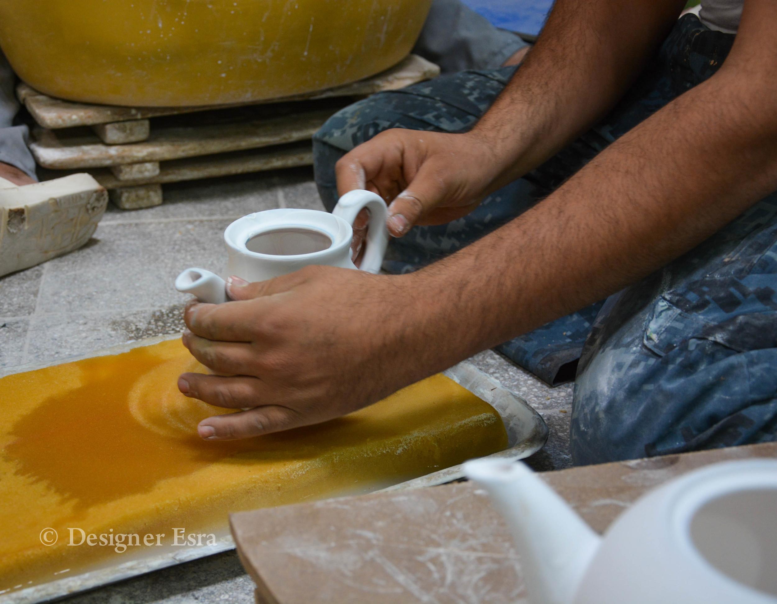 Handmade Ceramics in Iran