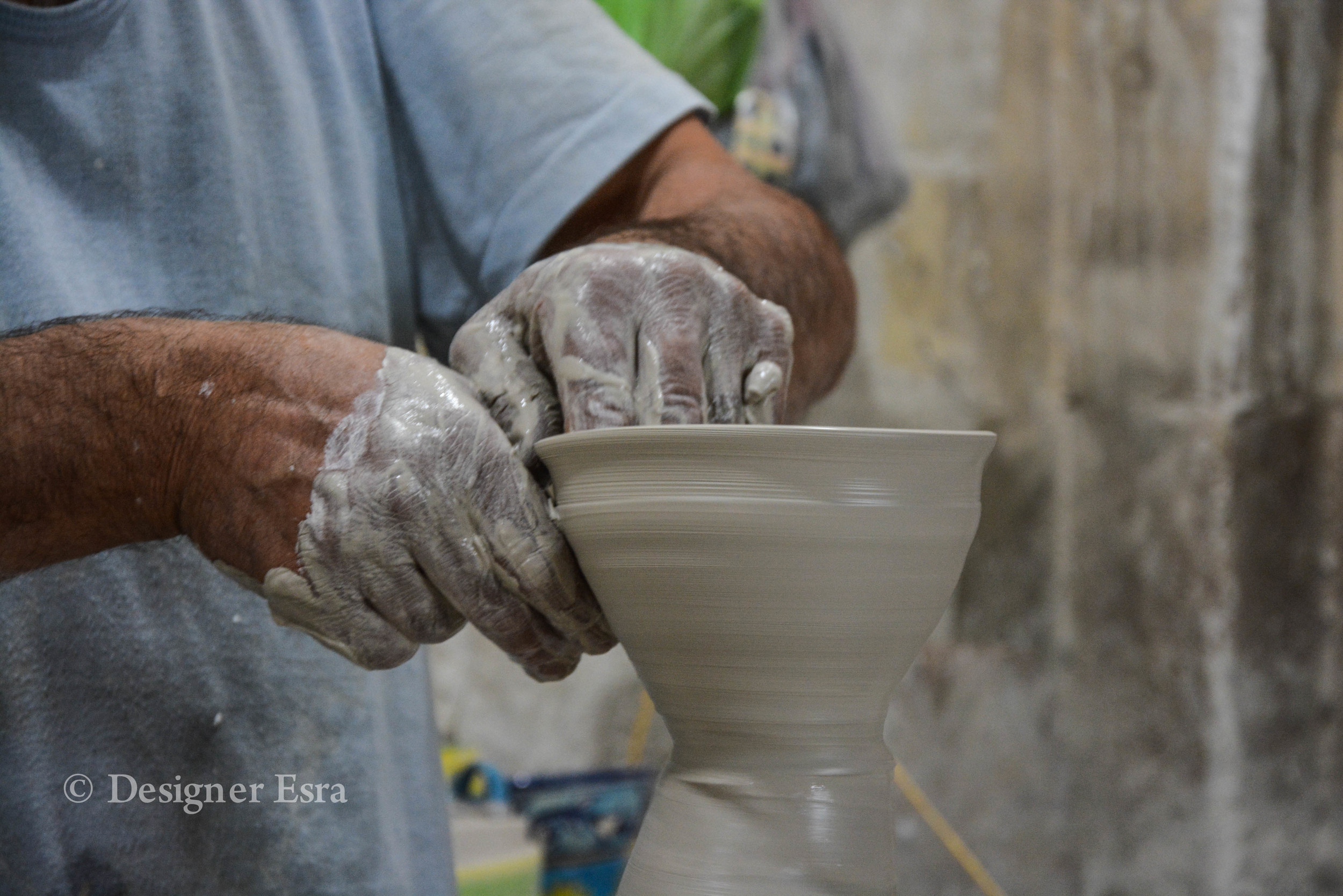 Throwing Clay in Iran