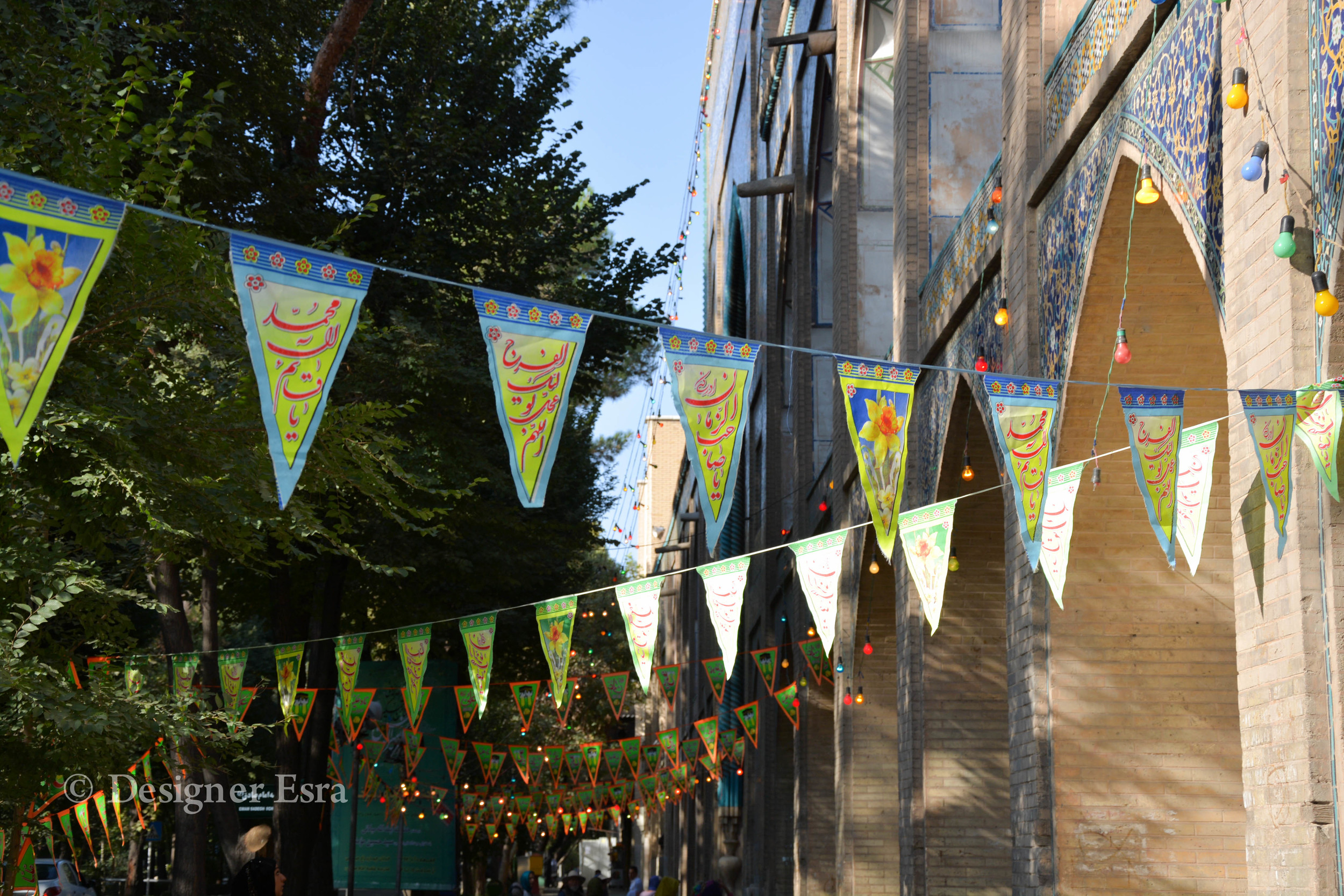 Celebratory Decorations in Iran