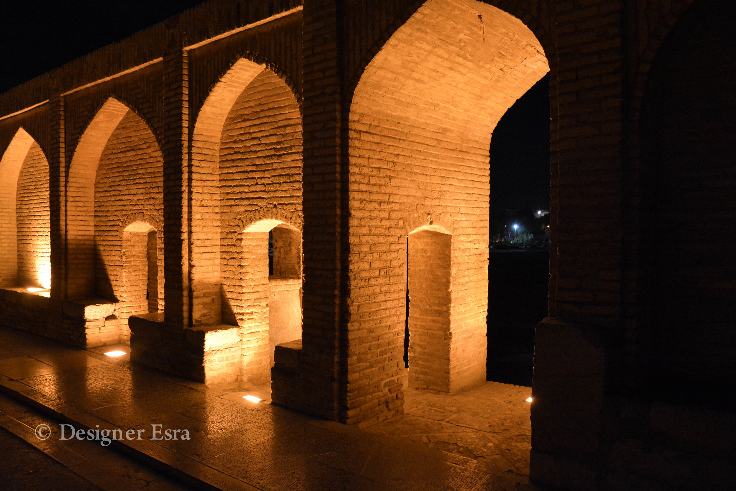 Arches in the Esfahani Bridge