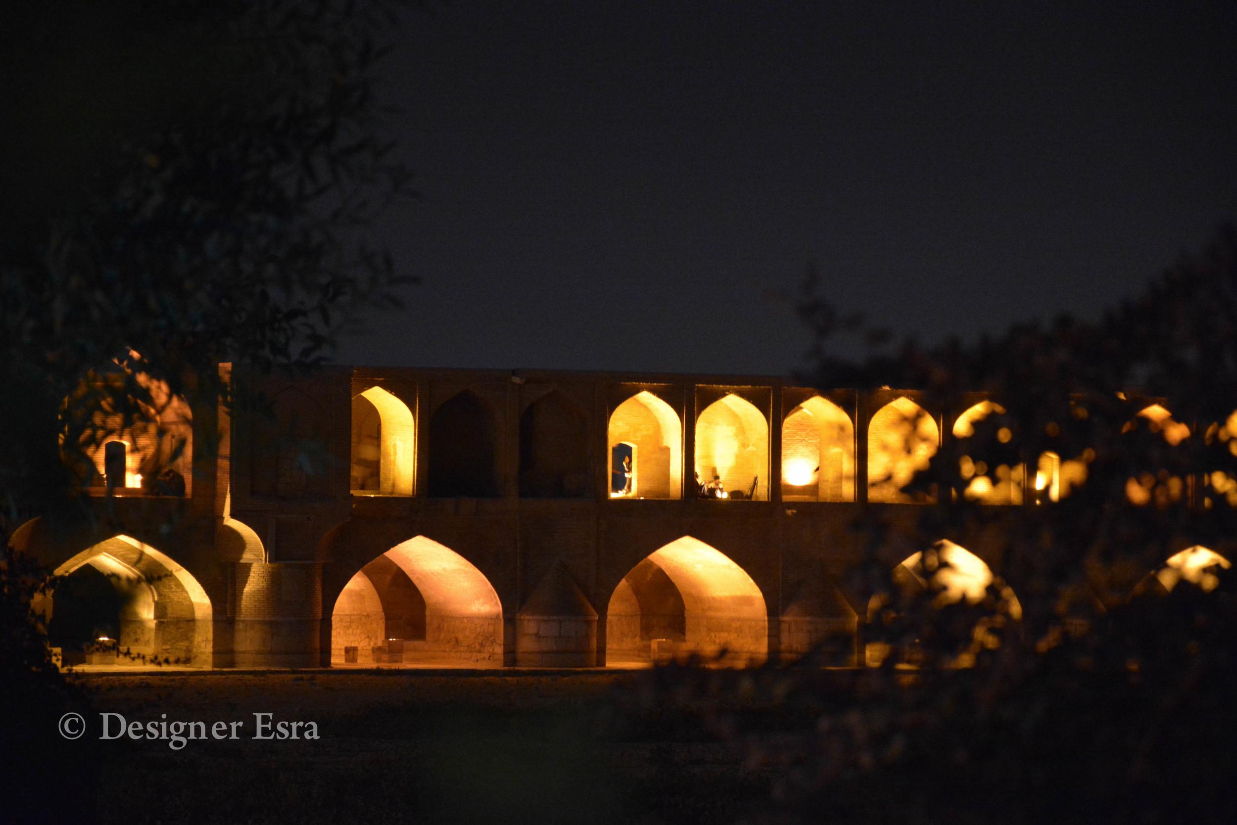 Lover's Bridge in Esfahan