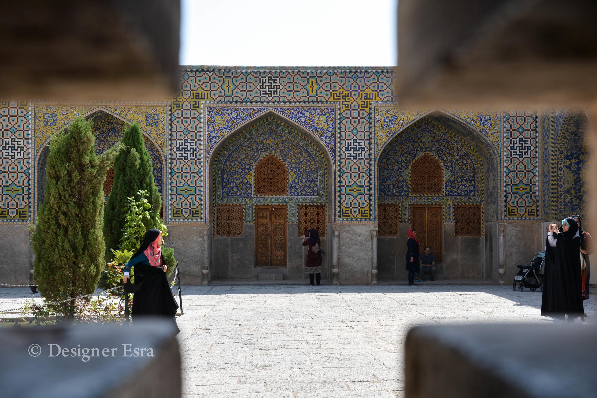 Harmony in design in Shah (Imam-i) Mosque