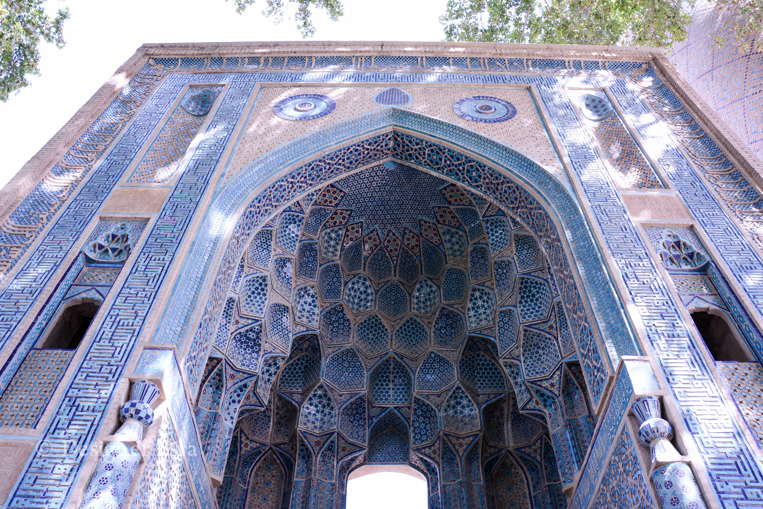 he façade is the only remains of an early fourteenth century khanaqah