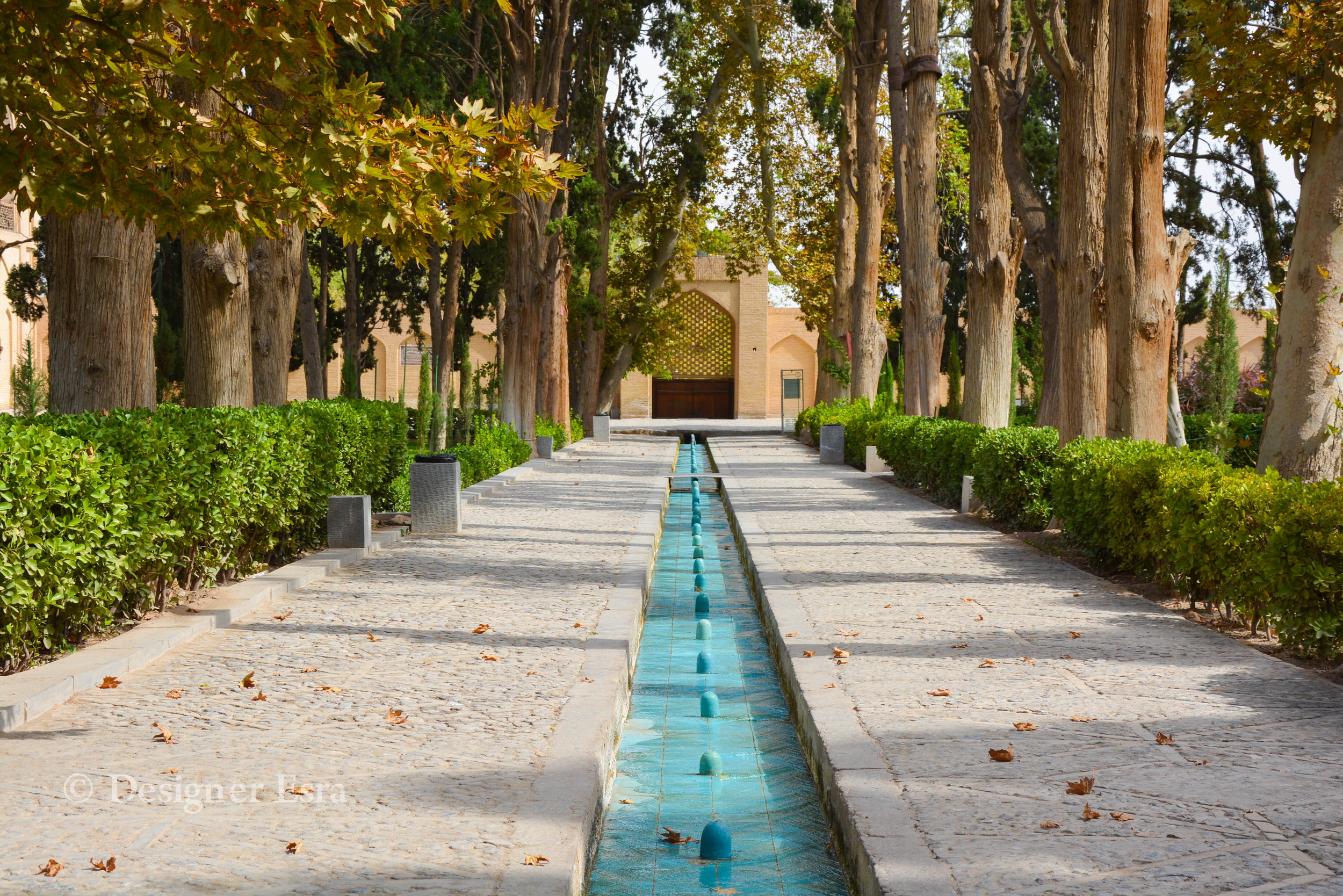 One of the most beautiful Persian Gardens in Iran