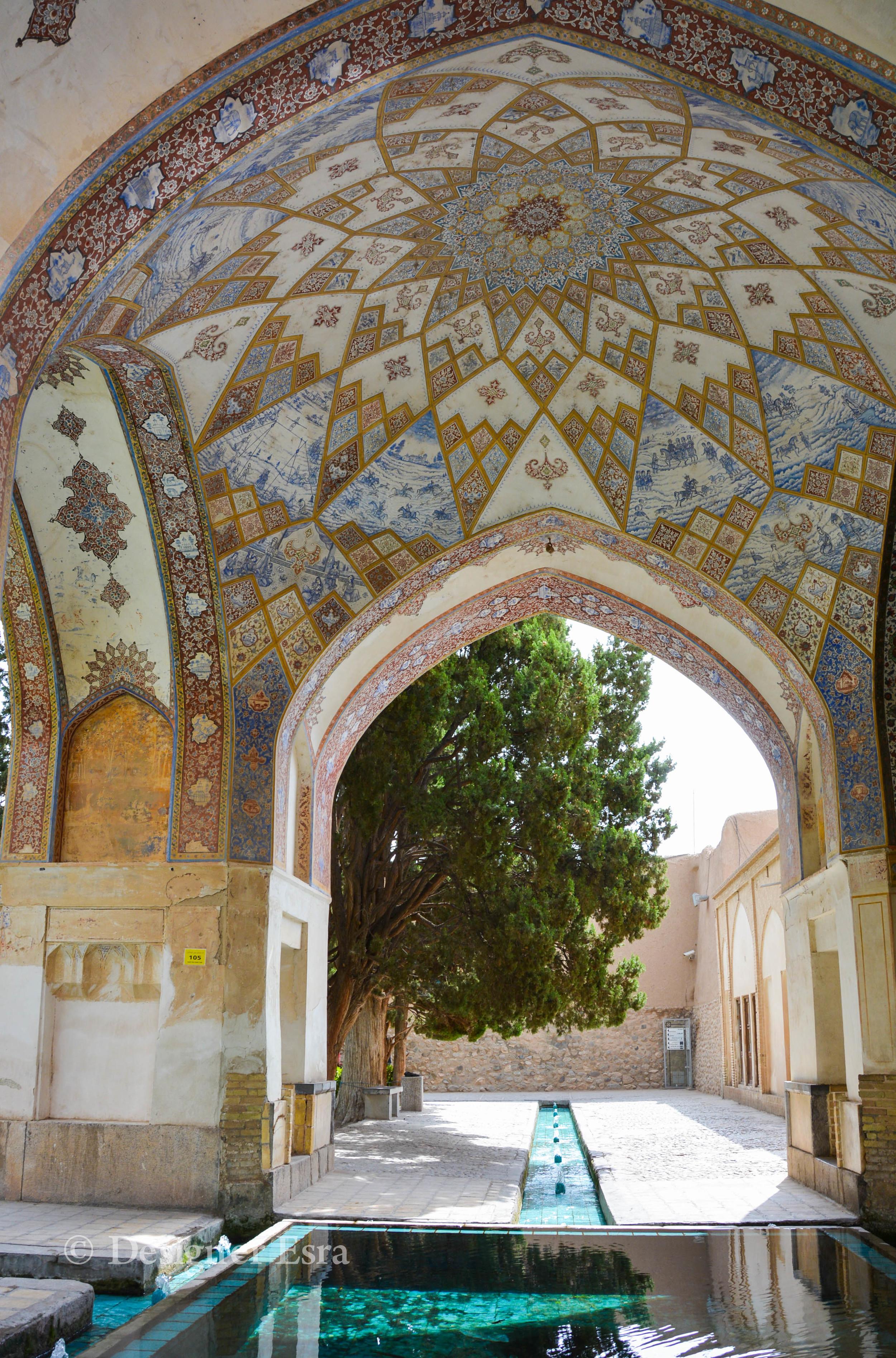 Islamic Geometry in the Fin Garden in Iran