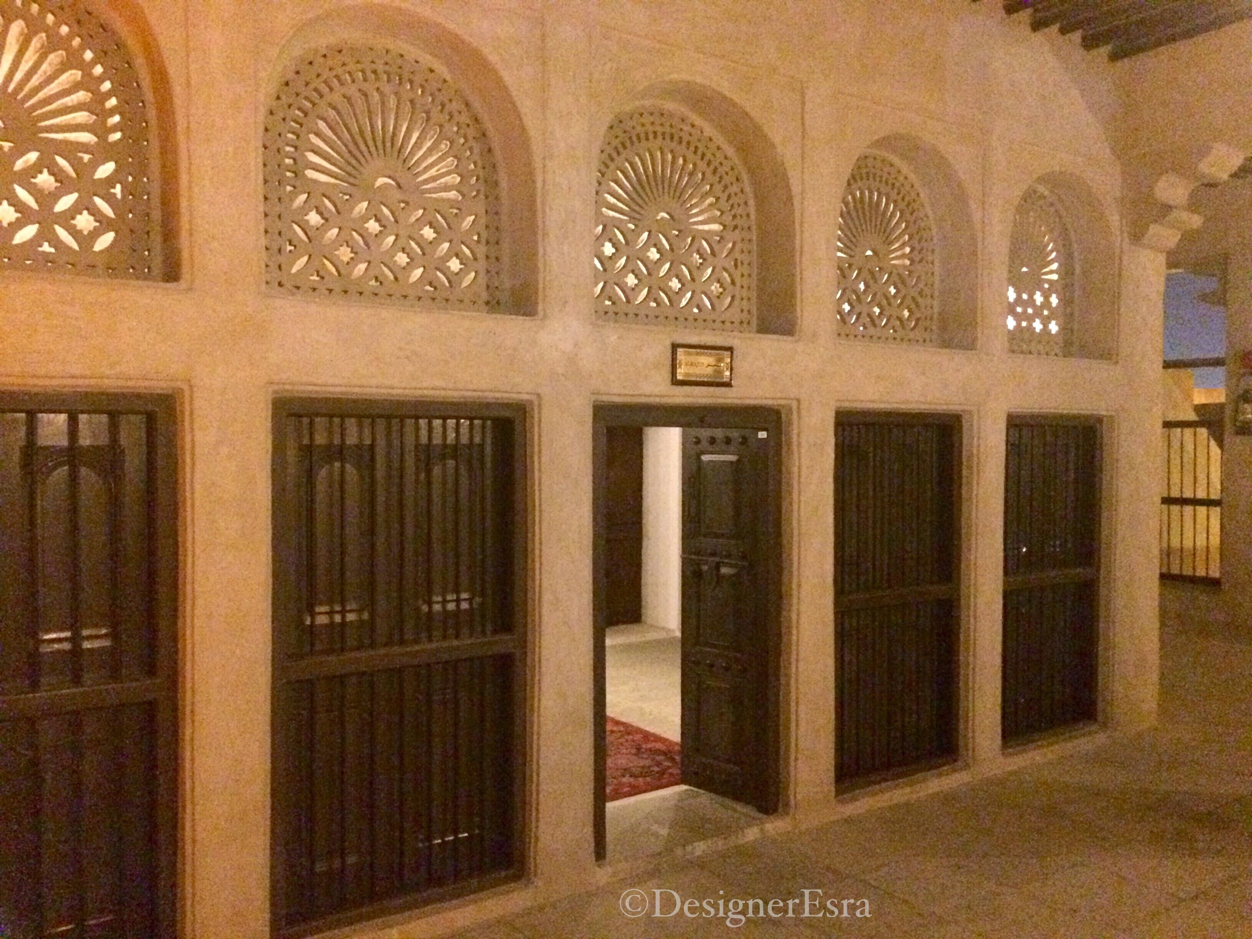 Geometric Patterns in Traditional Arabian Gulf Houses
