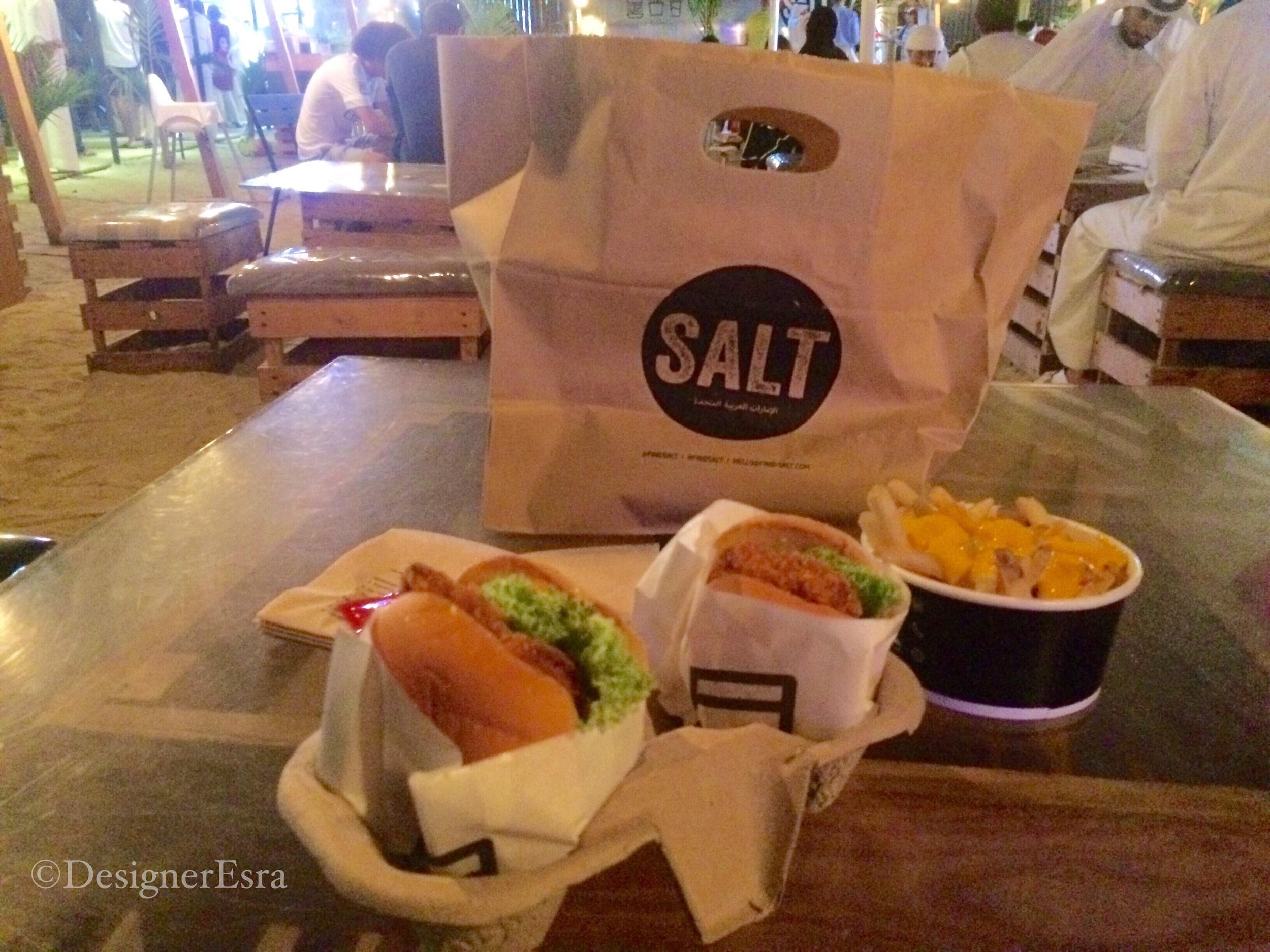 Salt Burger Joint in Dubai