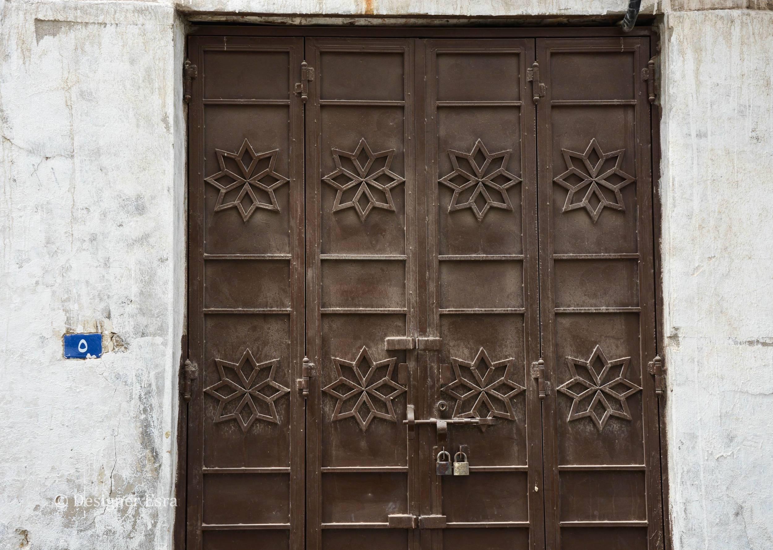 Metal Historic Door in Saudi