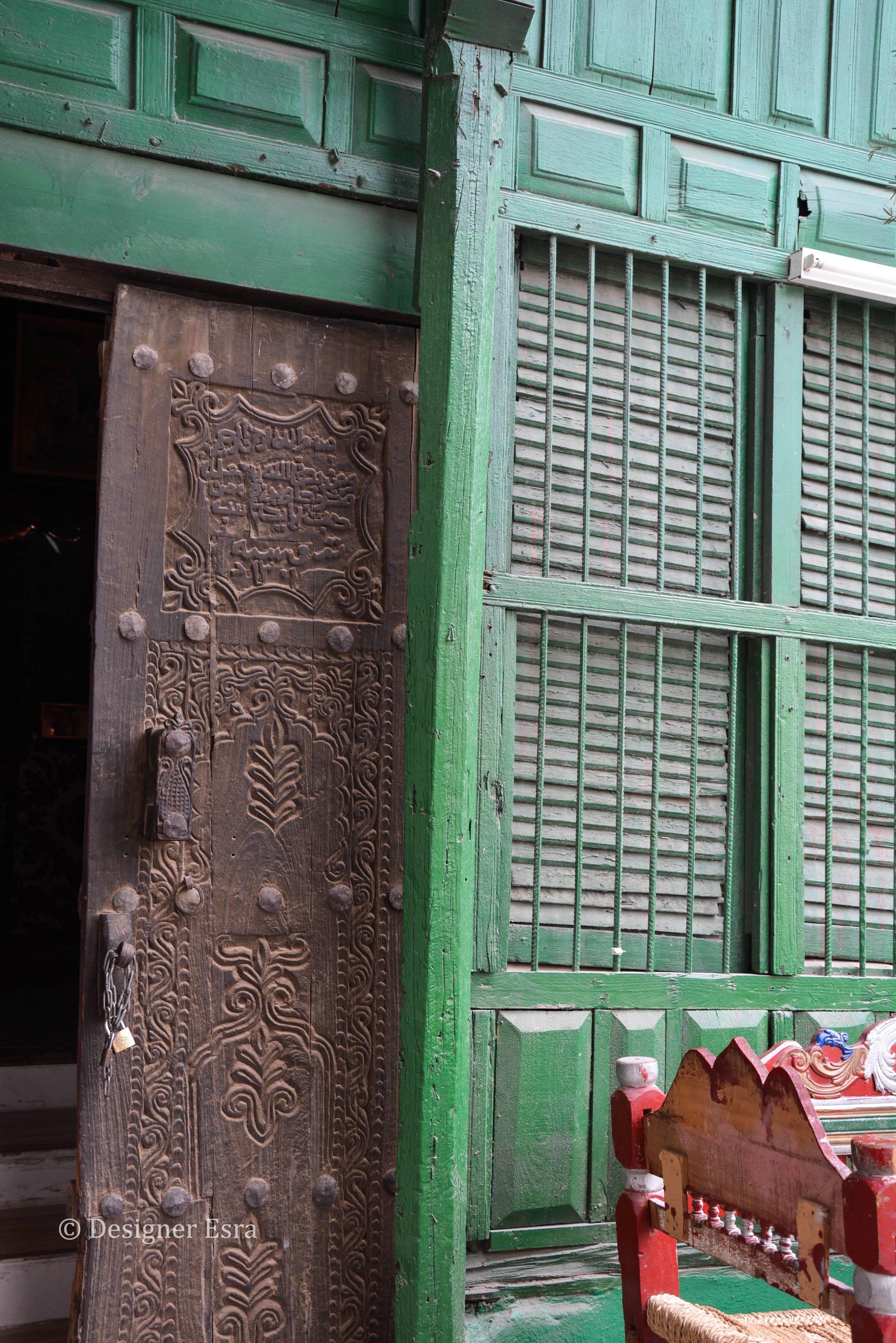 Carved Wooden Door in Jeddah